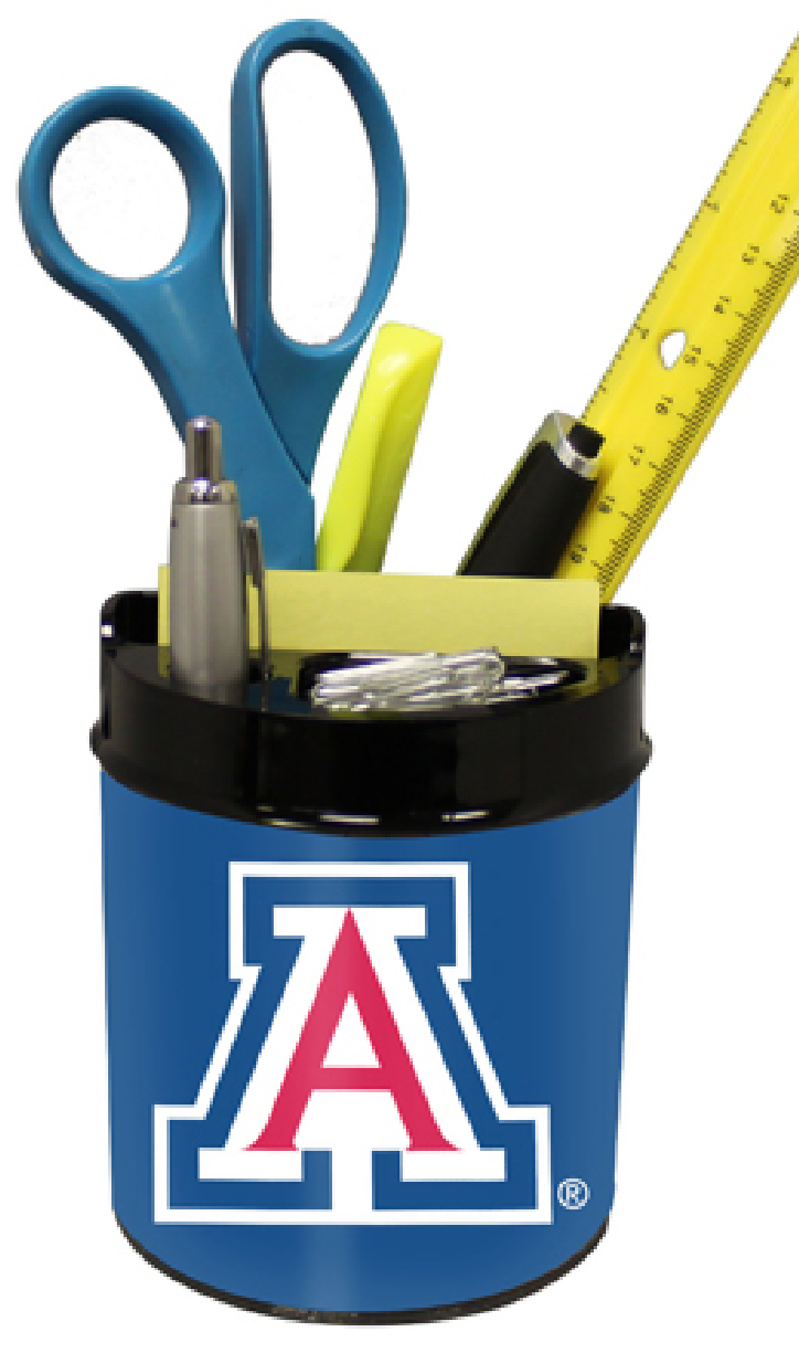 Arizona Wildcats Small Desk Caddy