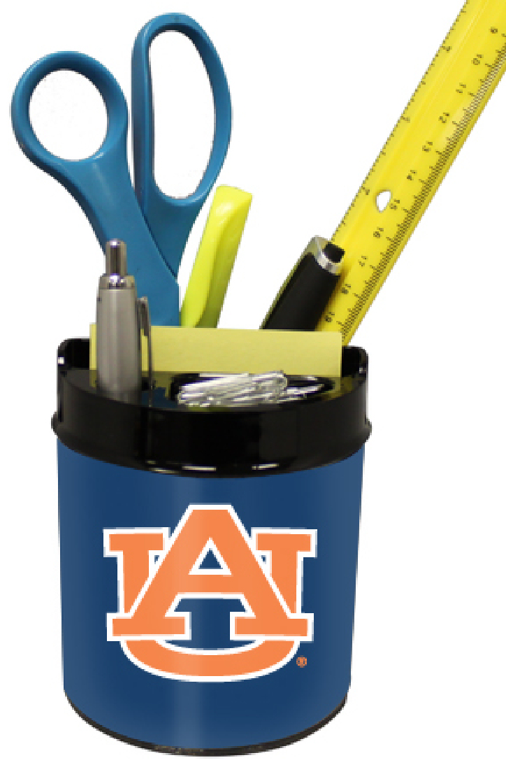 Auburn Tigers Small Desk Caddy