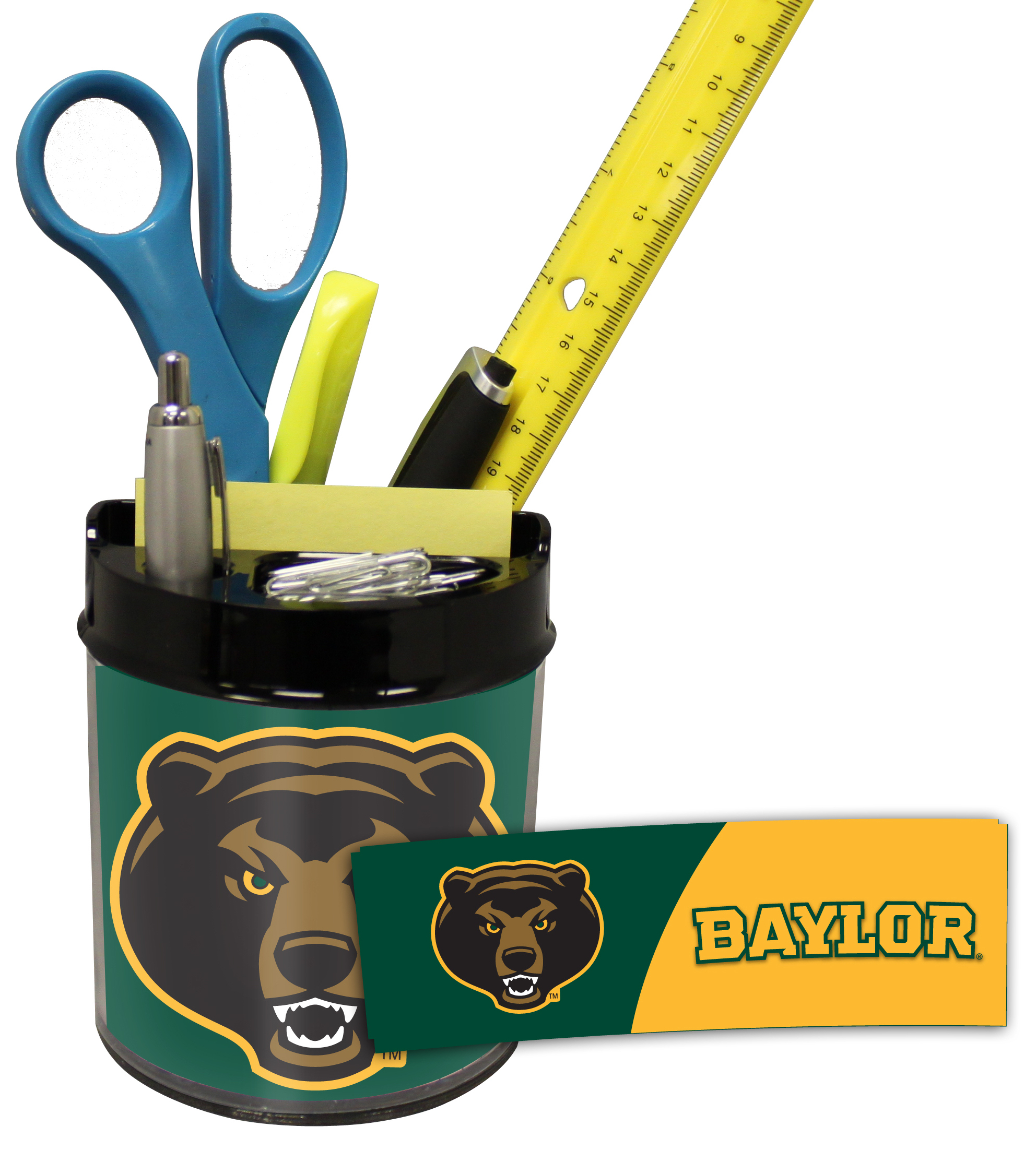 Baylor Bears Small Desk Caddy