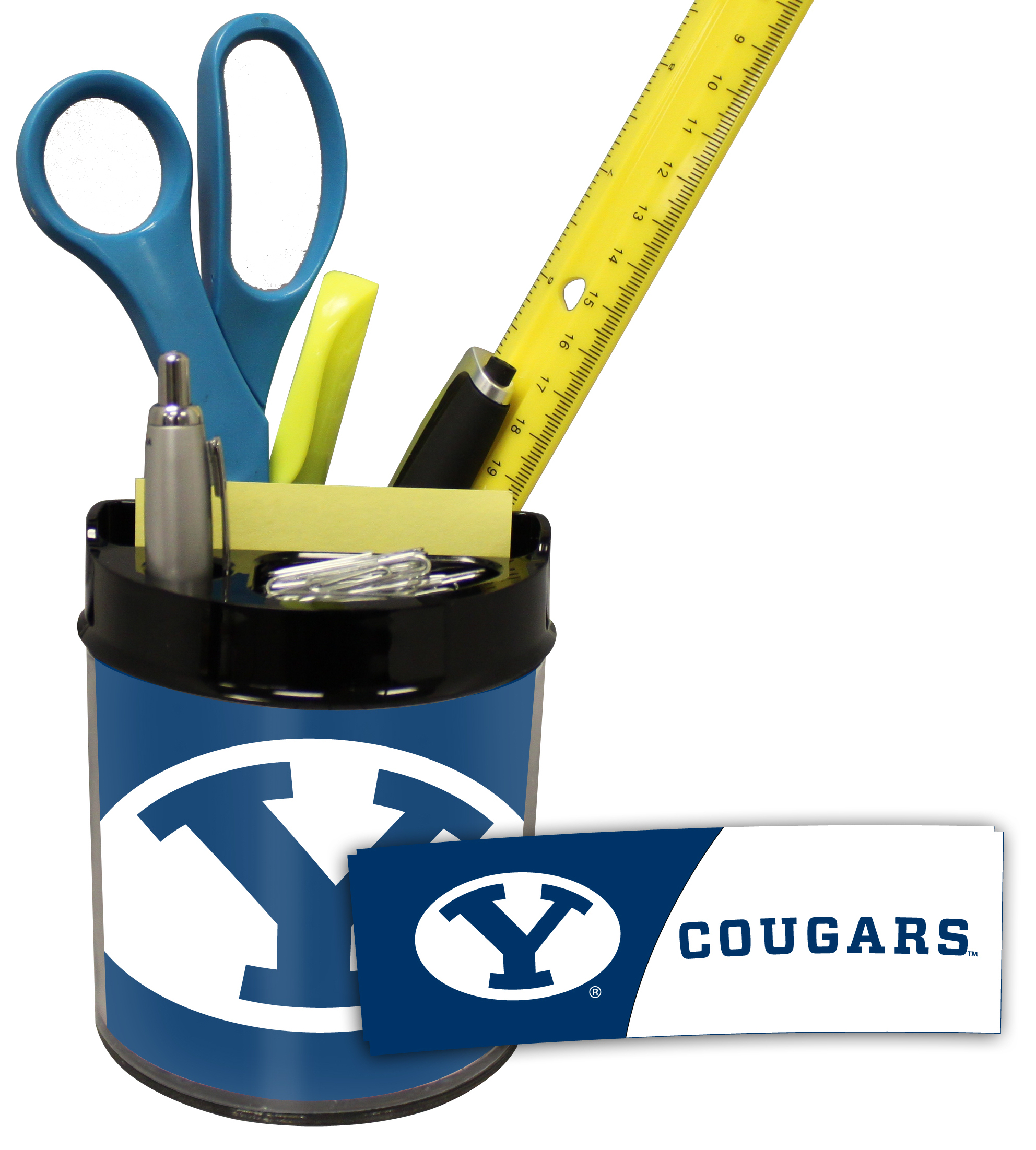 Brigham Young Cougars Small Desk Caddy