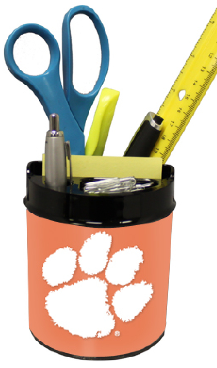 Clemson Tigers Small Desk Caddy