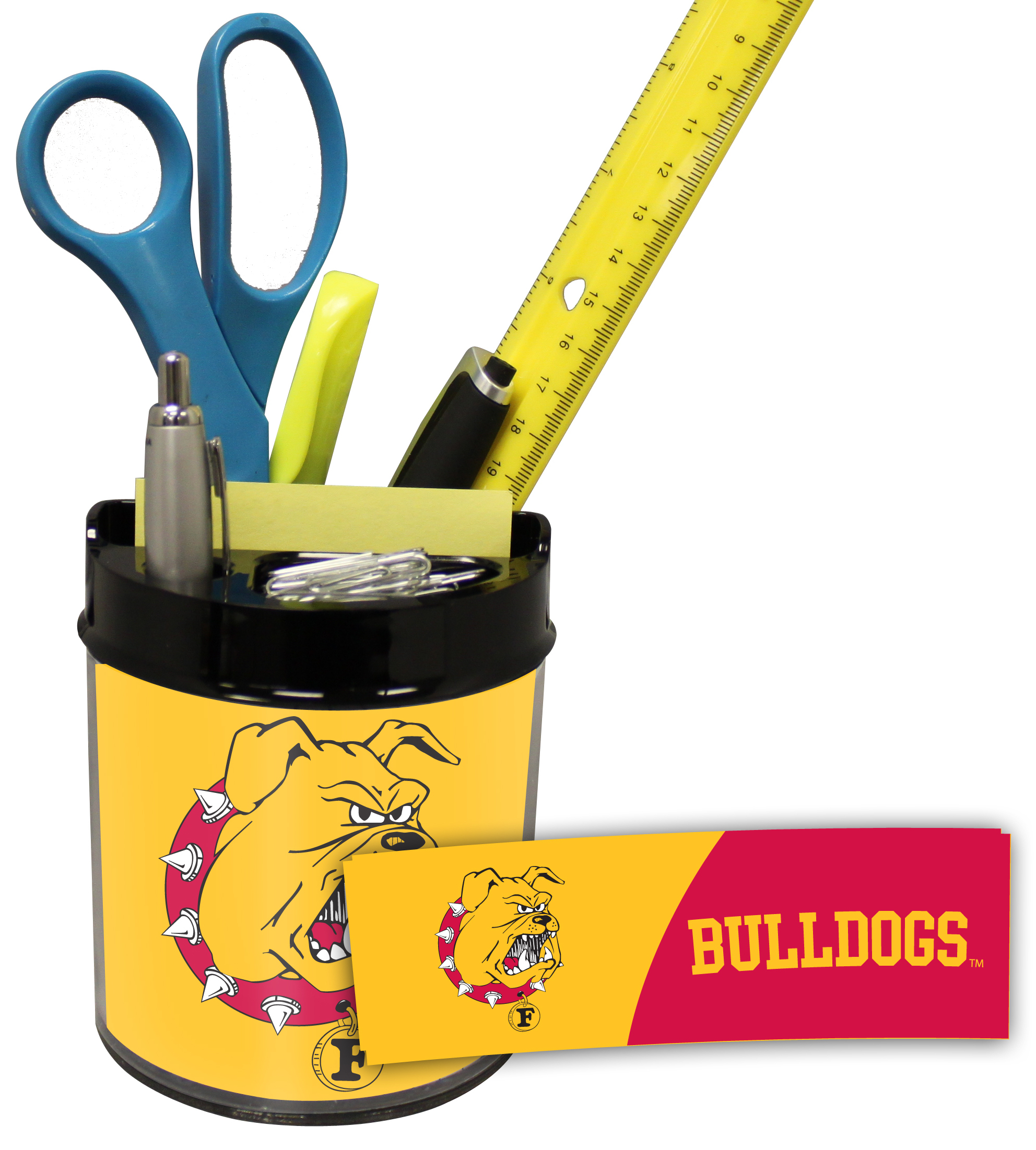 Ferris State Bullldogs Small Desk Caddy