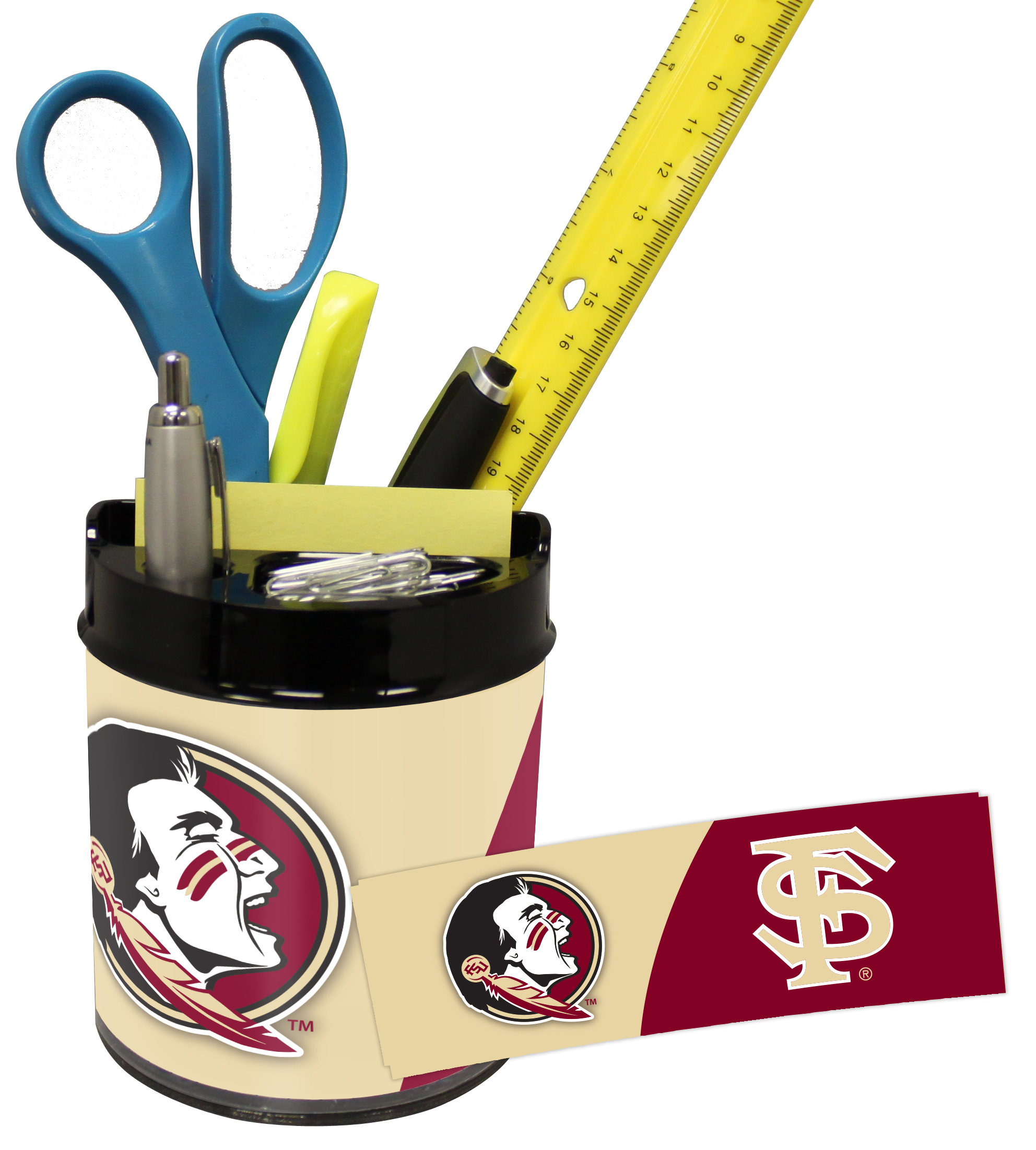 Florida State Seminoles Small Desk Caddy