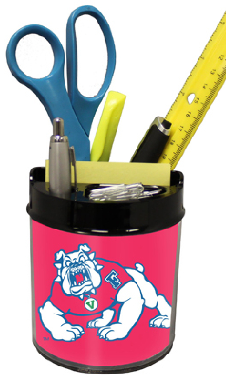 Fresno State Bulldogs Small Desk Caddy