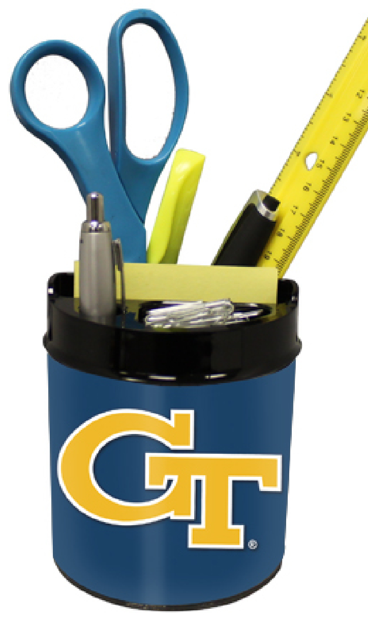 Georgia Tech Yellow Jackets Small Desk Caddy