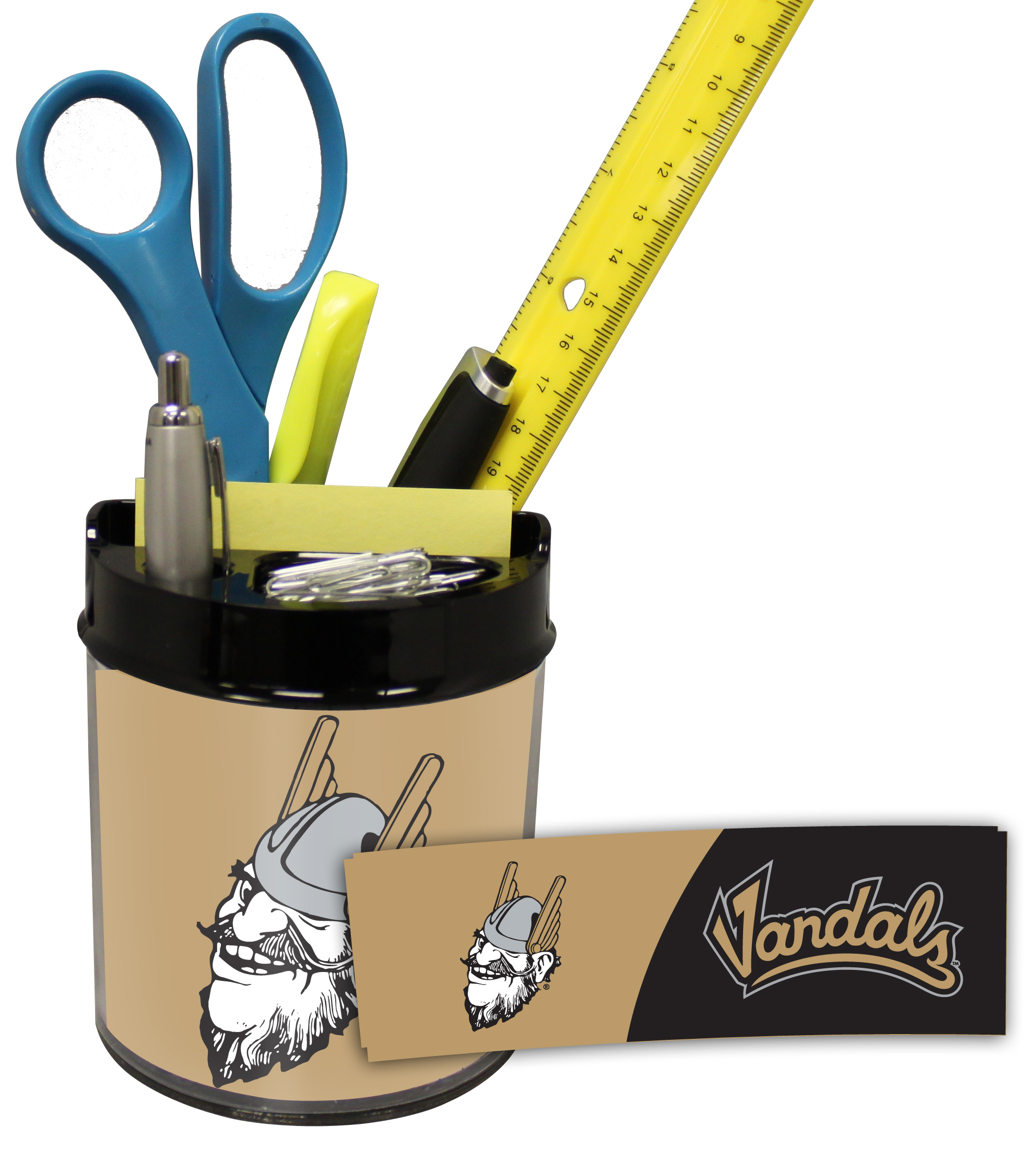 Idaho Vandals Small Desk Caddy