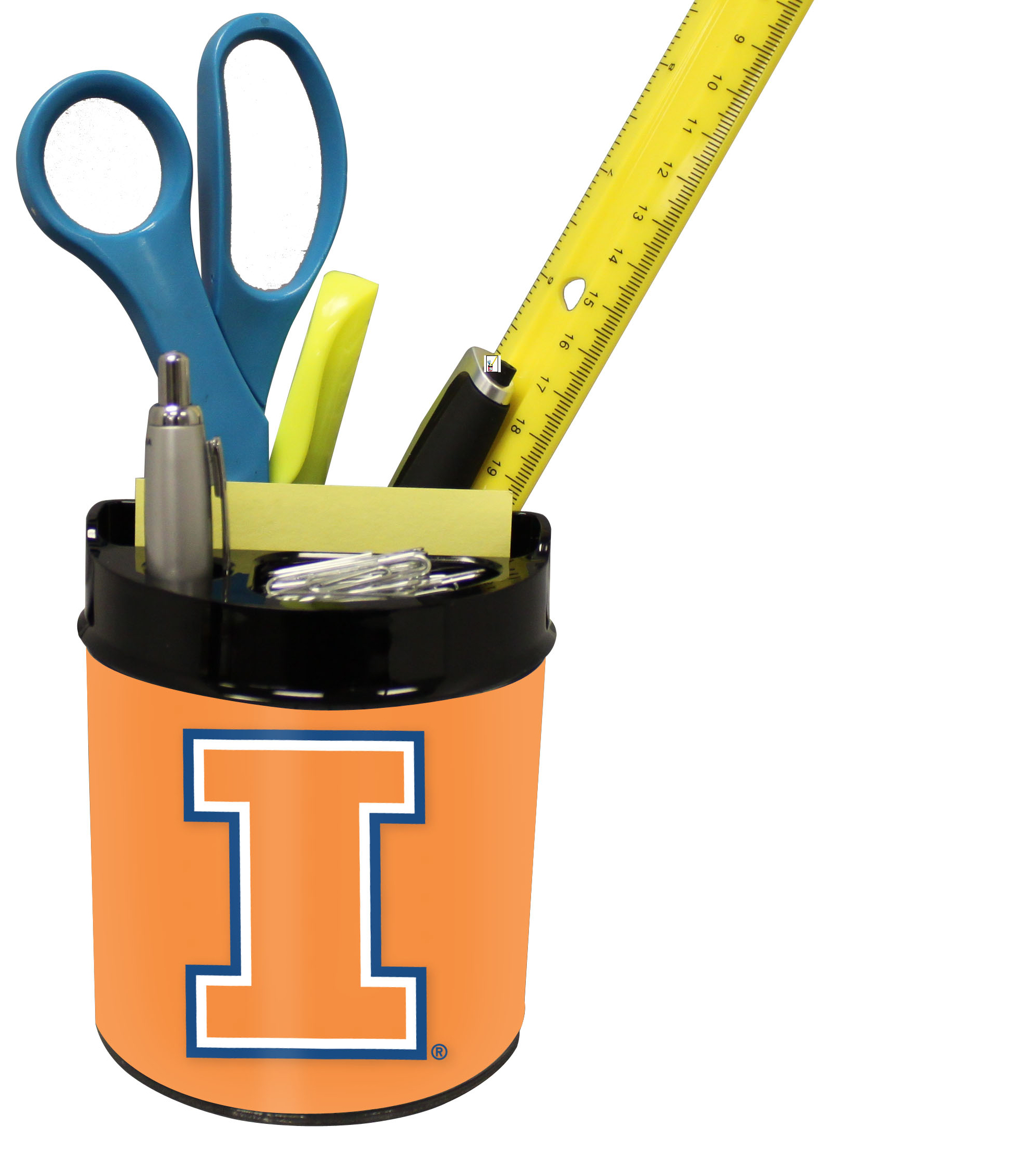 Illinois Fighting Illini Small Desk Caddy