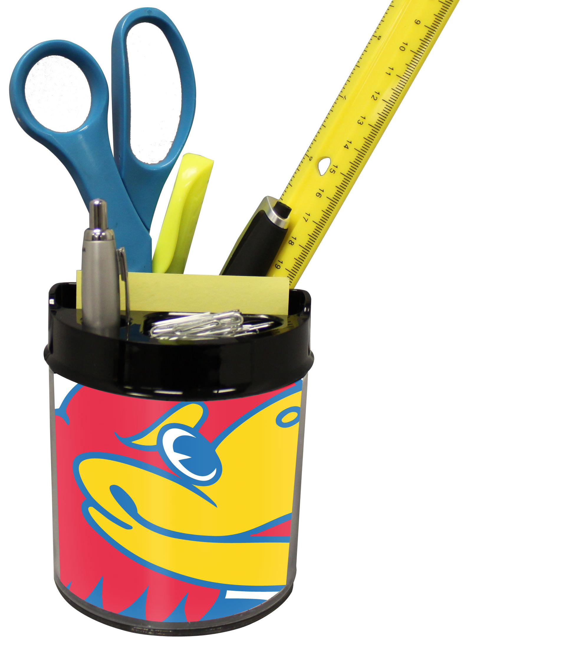 Kansas Jayhawks Small Desk Caddy