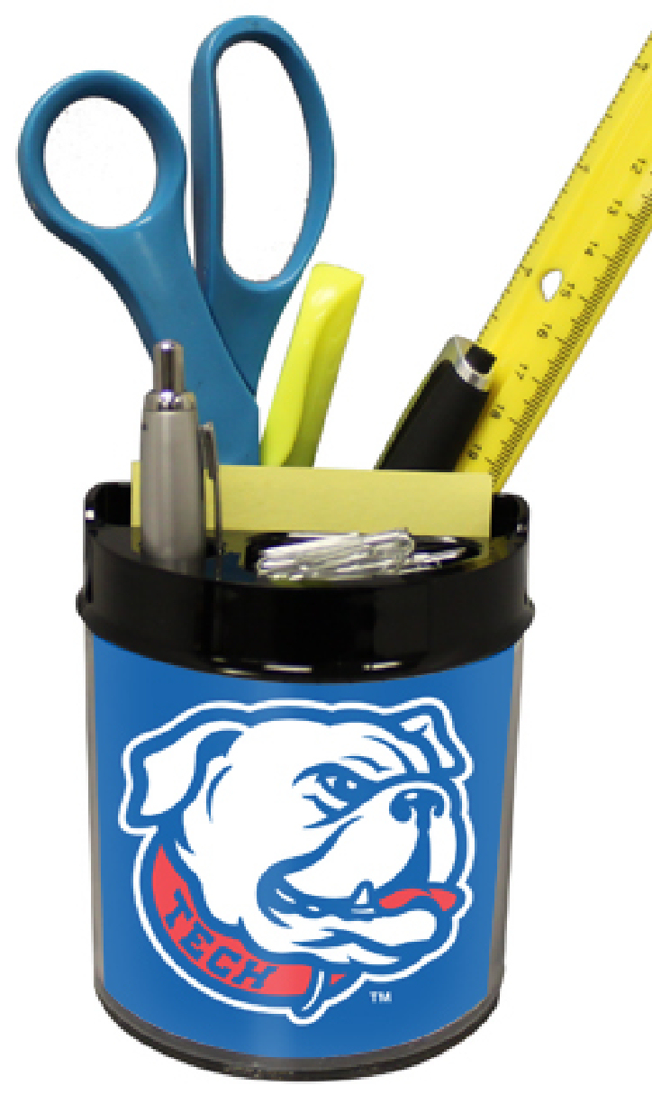 Louisiana Tech Bulldogs Small Desk Caddy