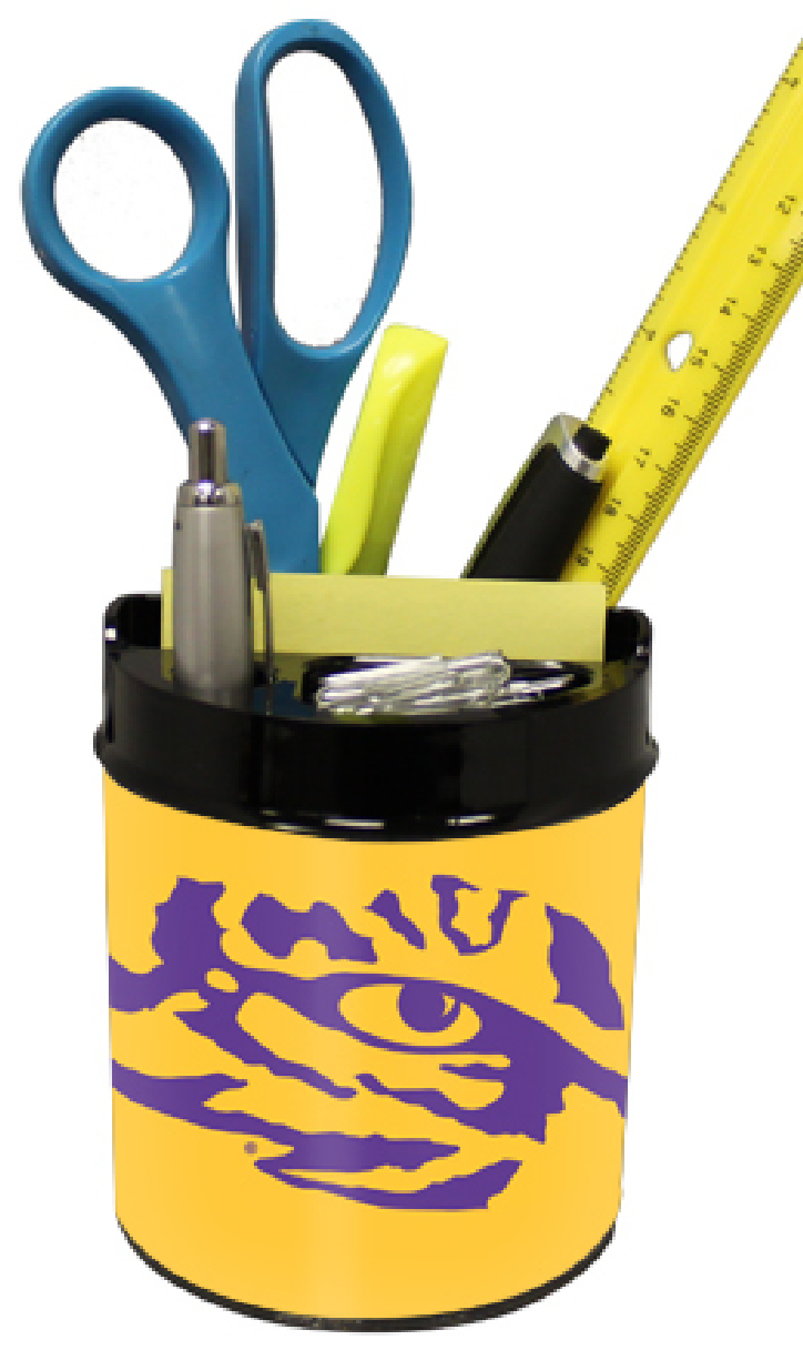 LSU Tigers Small Desk Caddy