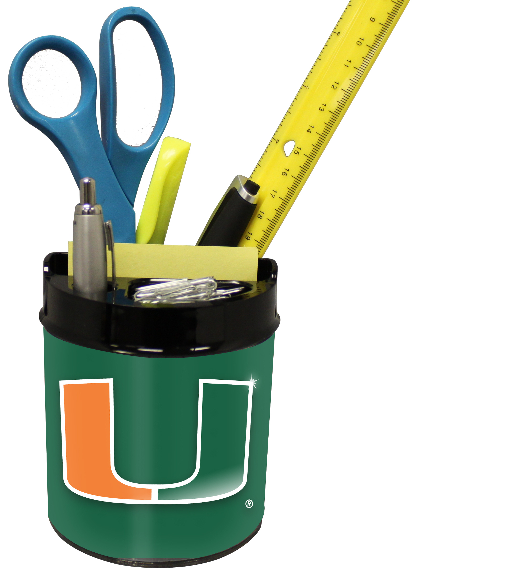 Miami Hurricanes Small Desk Caddy