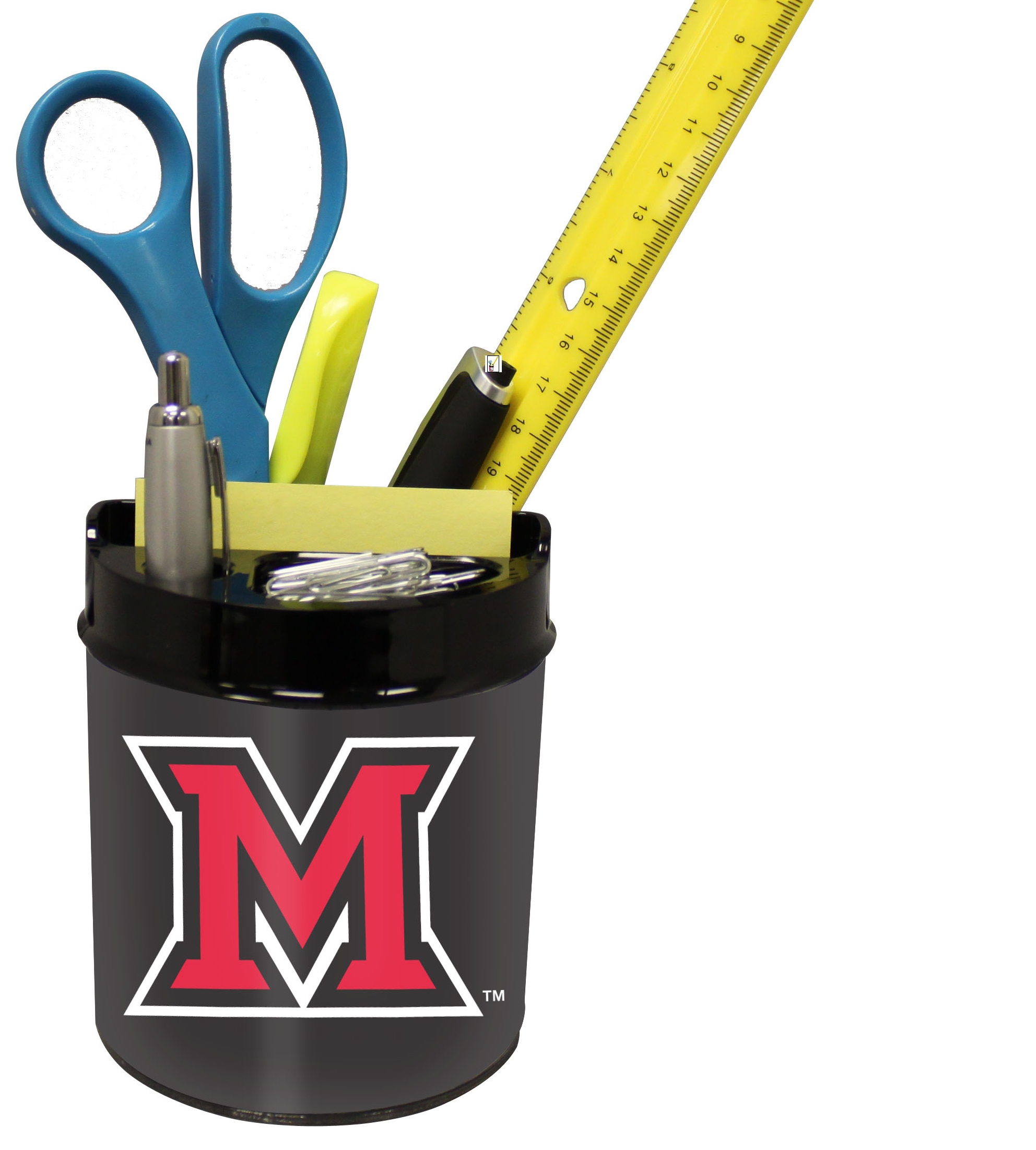Miami of Ohio Redhawks Small Desk Caddy