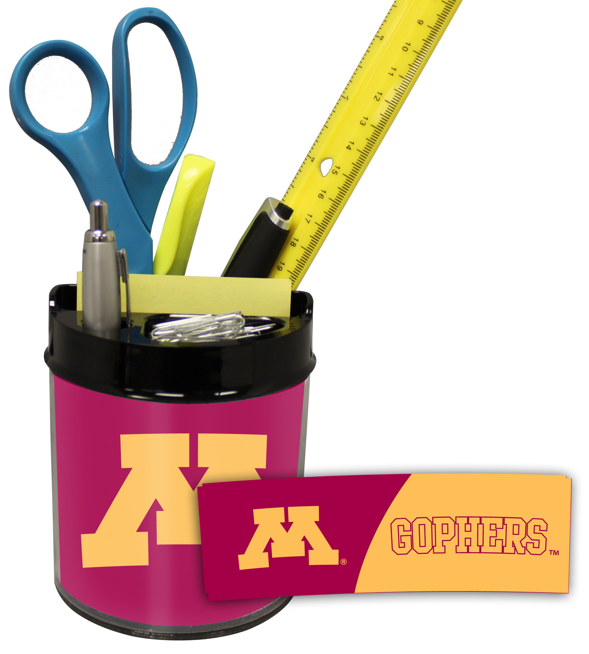Minnesota Golden Gophers Small Desk Caddy