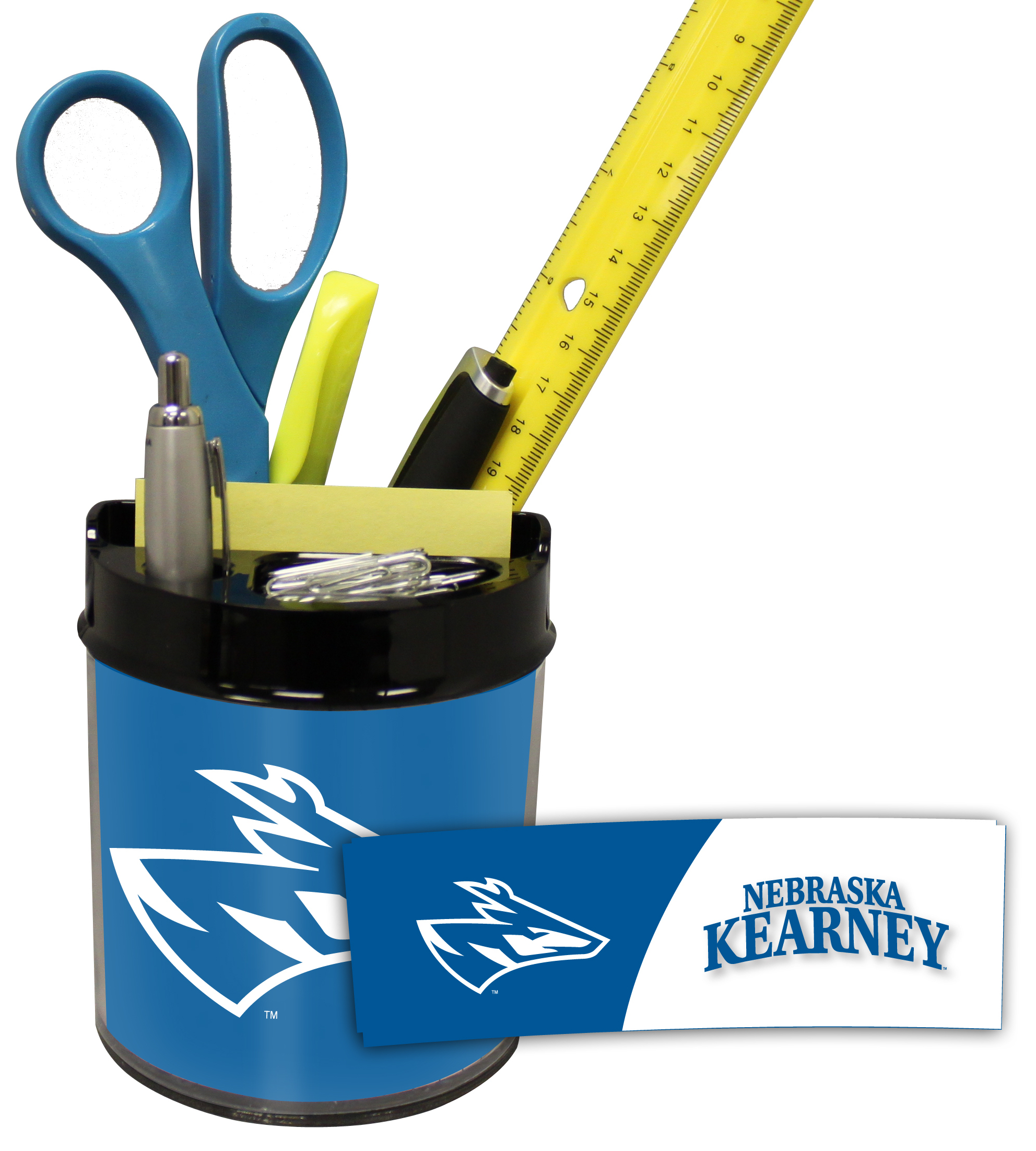 Nebraska Kearney Lopers Small Desk Caddy