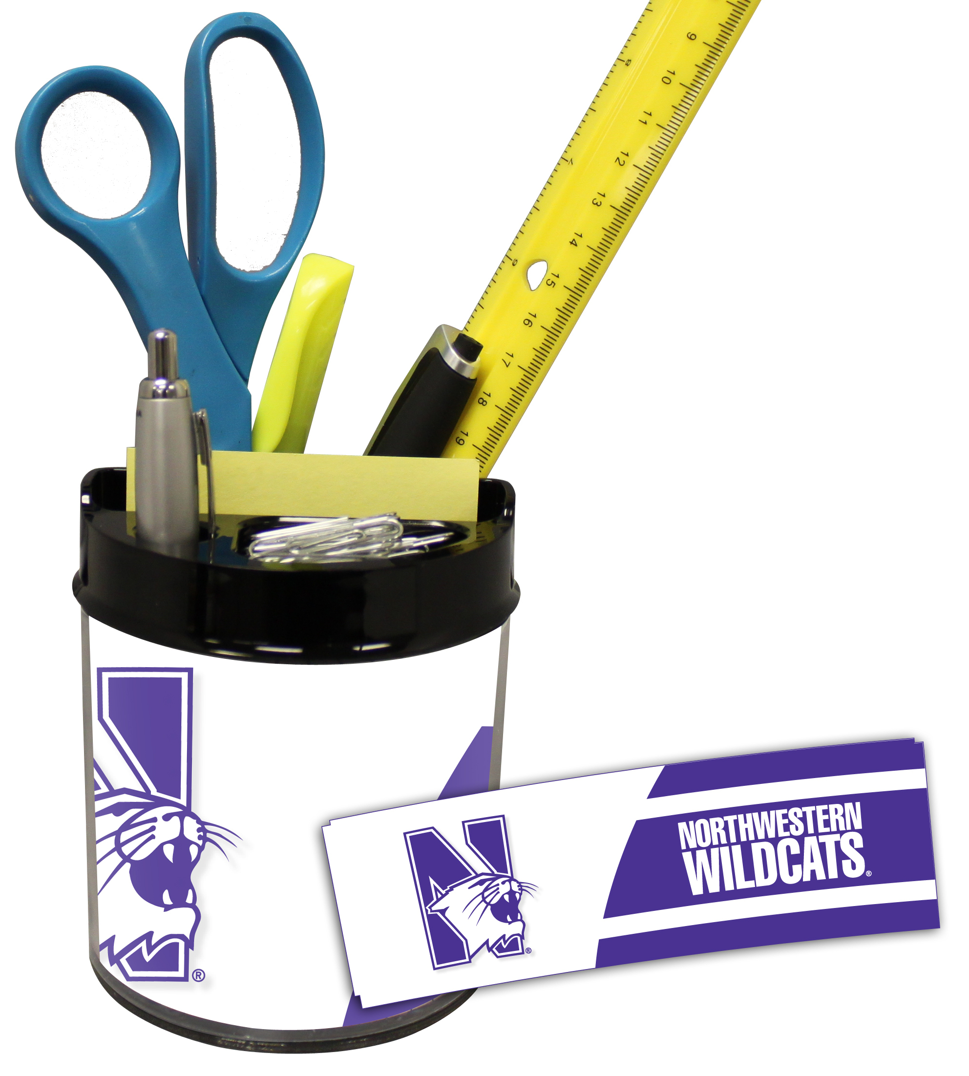 Northwestern Wildcats Small Desk Caddy