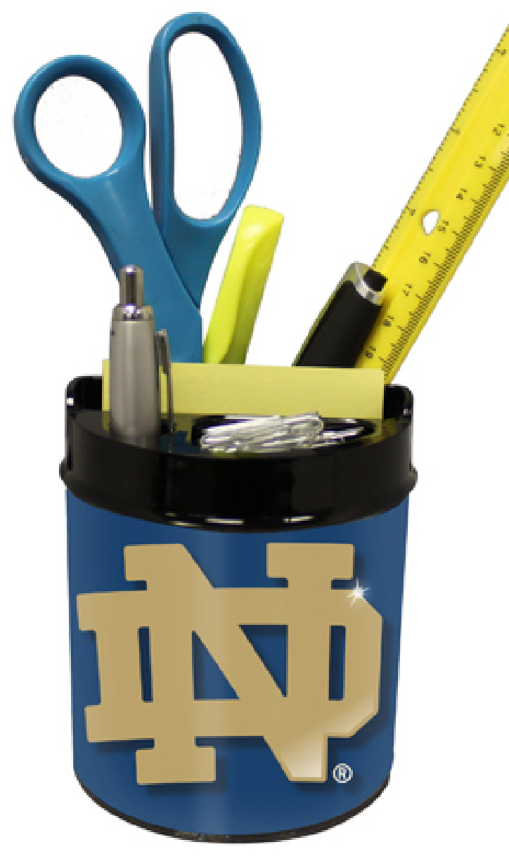 Notre Dame Fighting Irish Small Desk Caddy