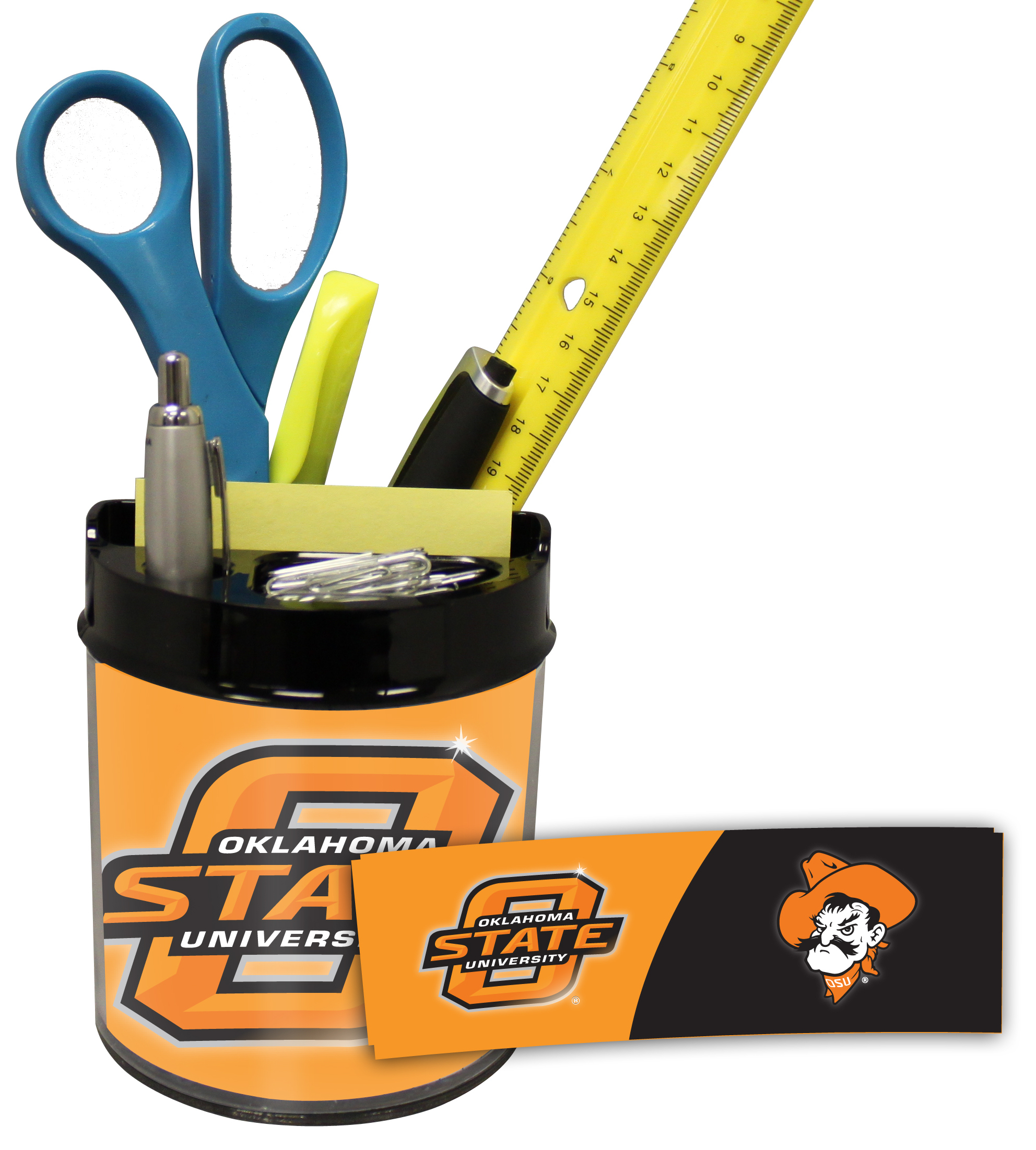 Oklahoma State Cowboys Small Desk Caddy