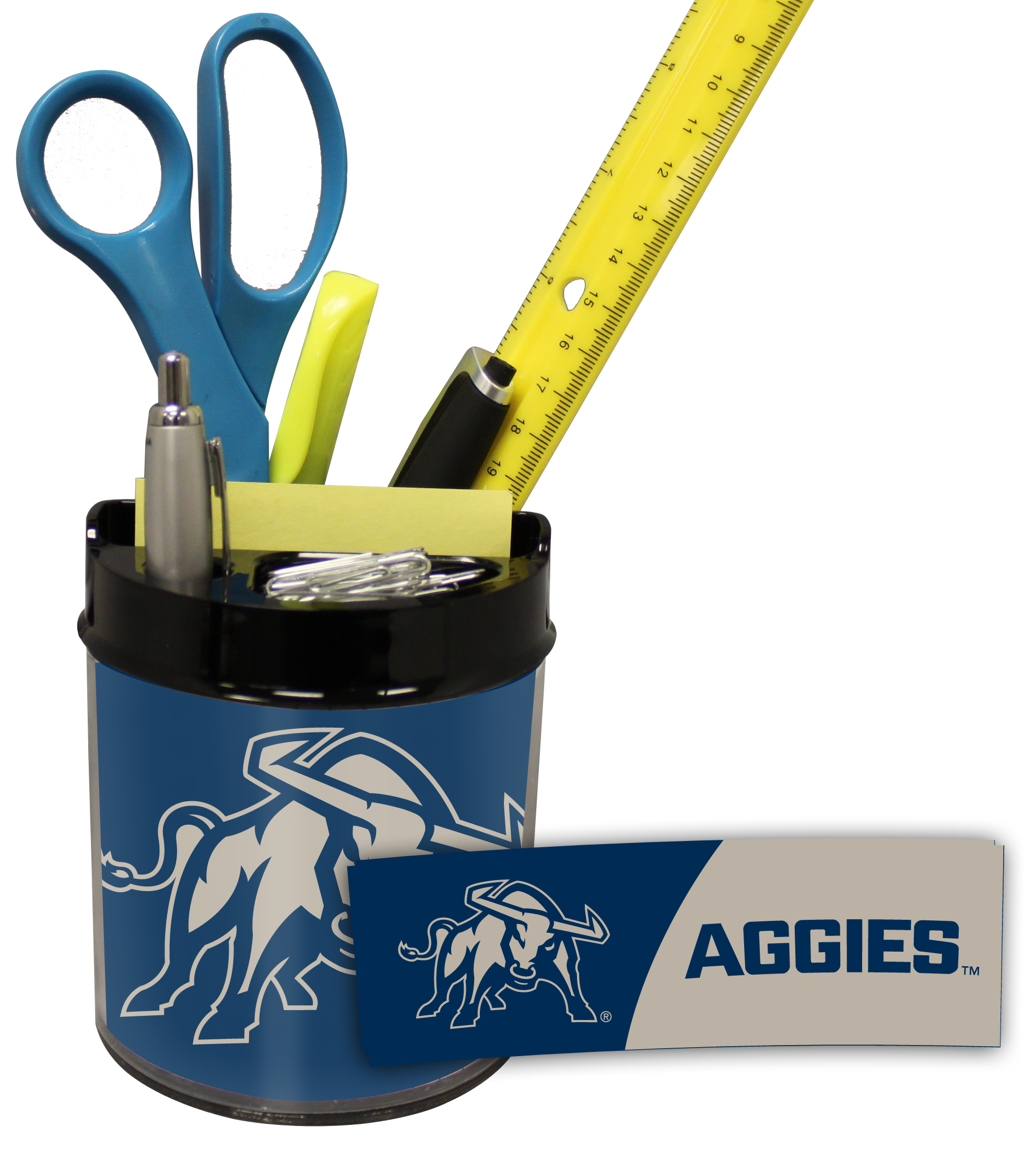 Utah State Aggies Small Desk Caddy