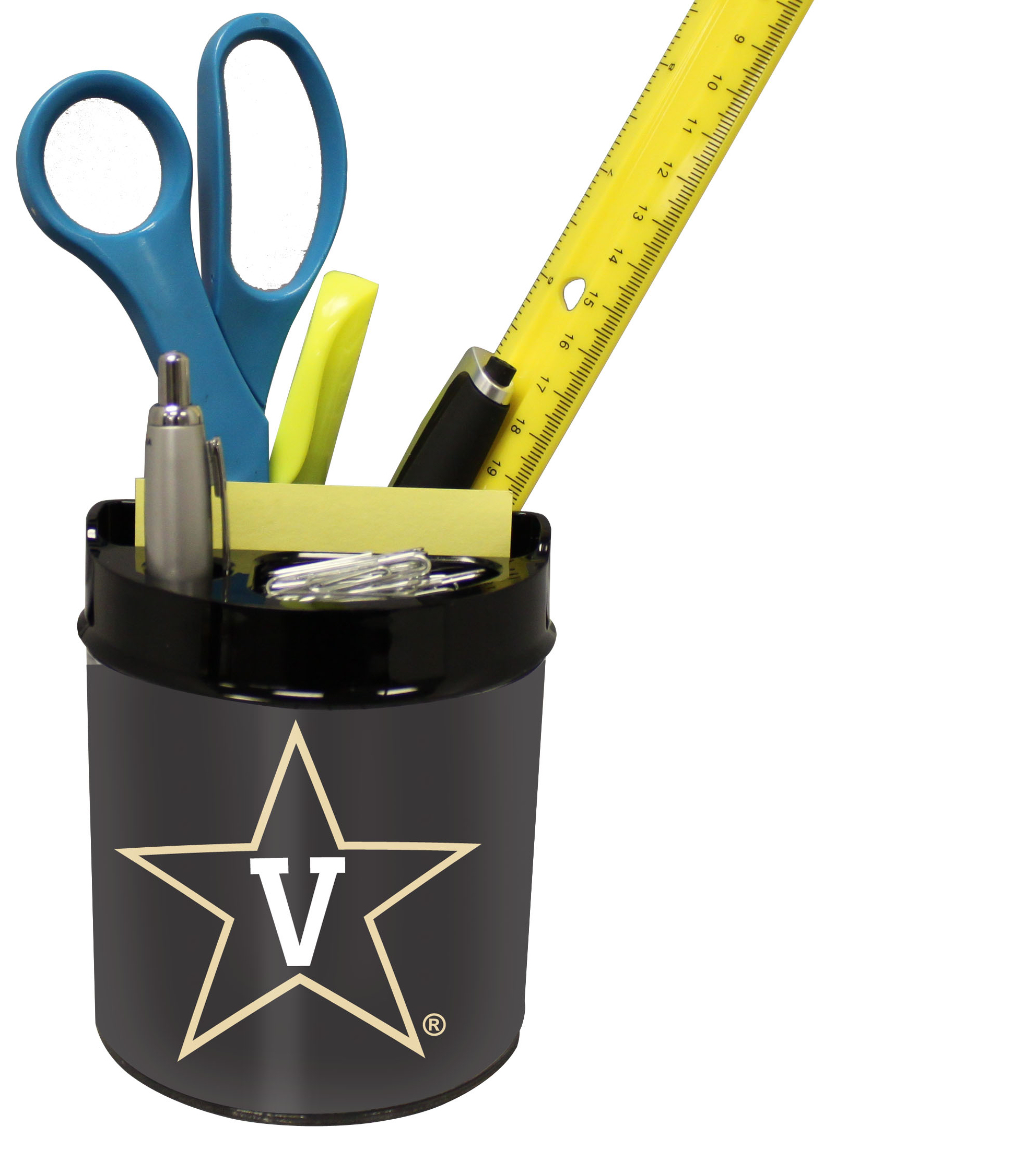 Vanderbilt Commodores Small Desk Caddy