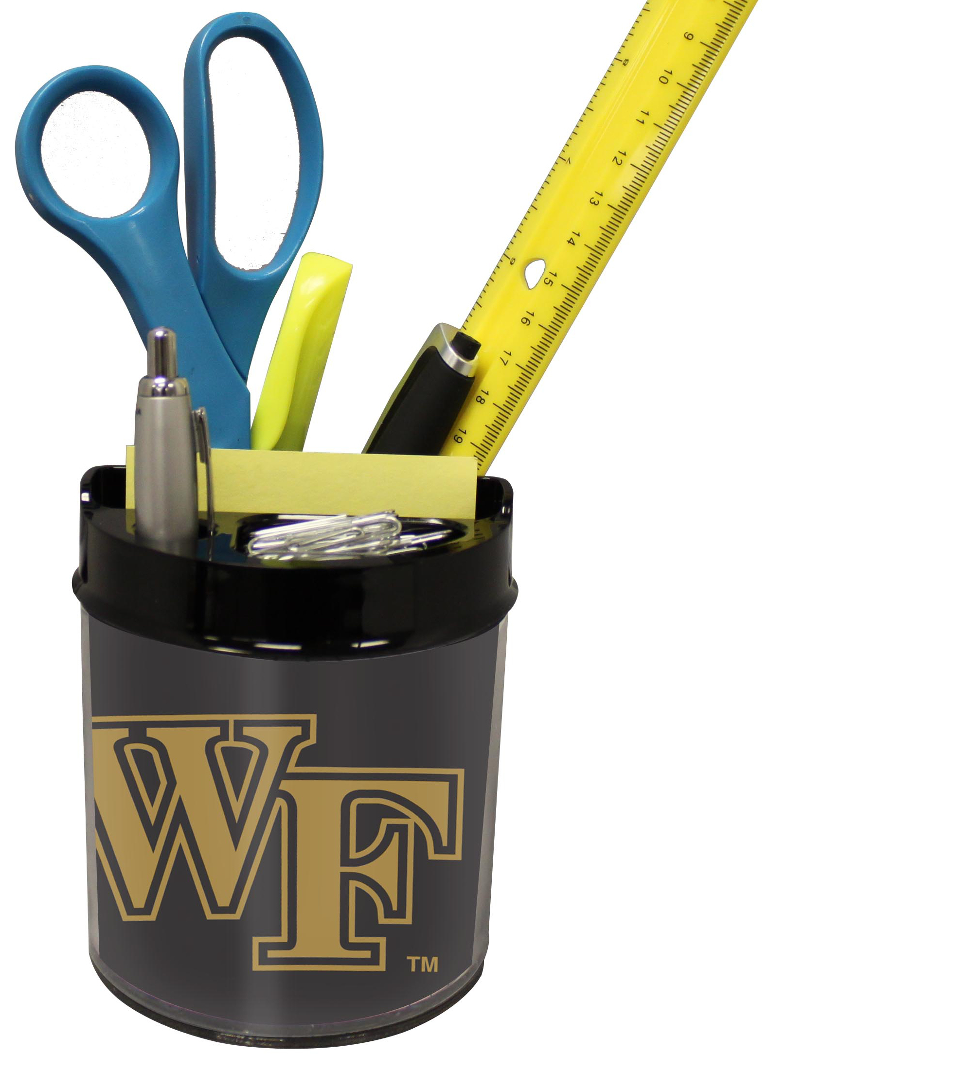 Wake Forest Demon Deacons Small Desk Caddy