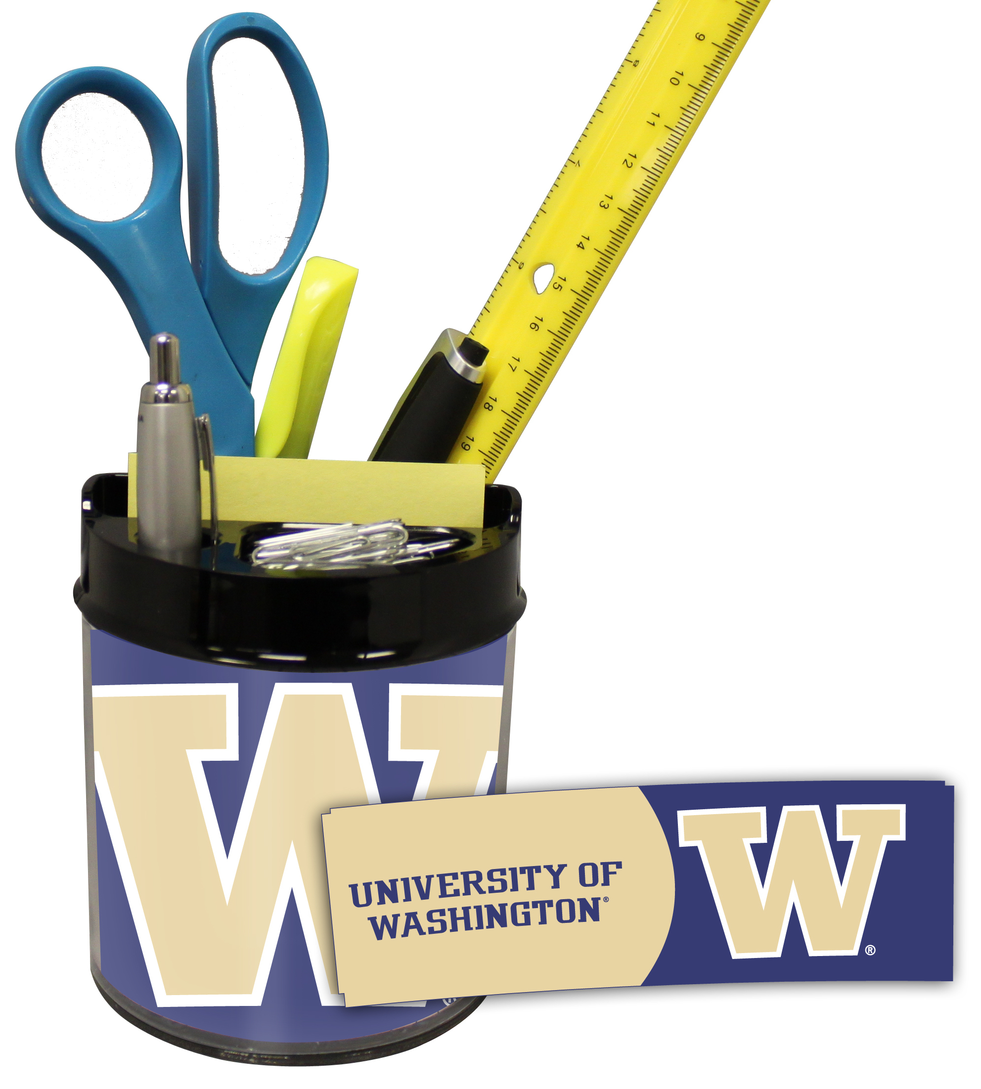Washington Huskies Small Desk Caddy