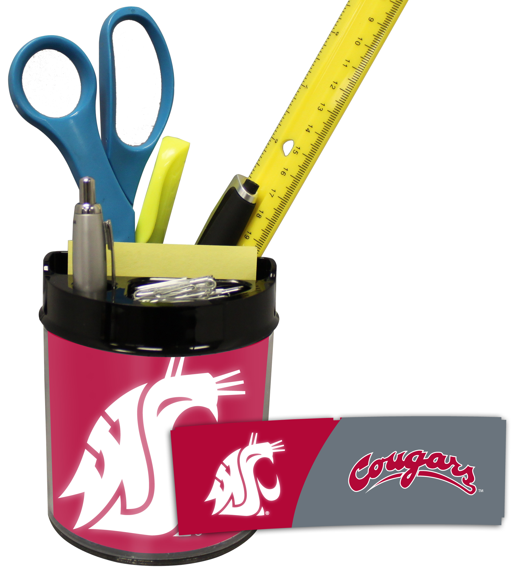 Washington State Cougars Small Desk Caddy