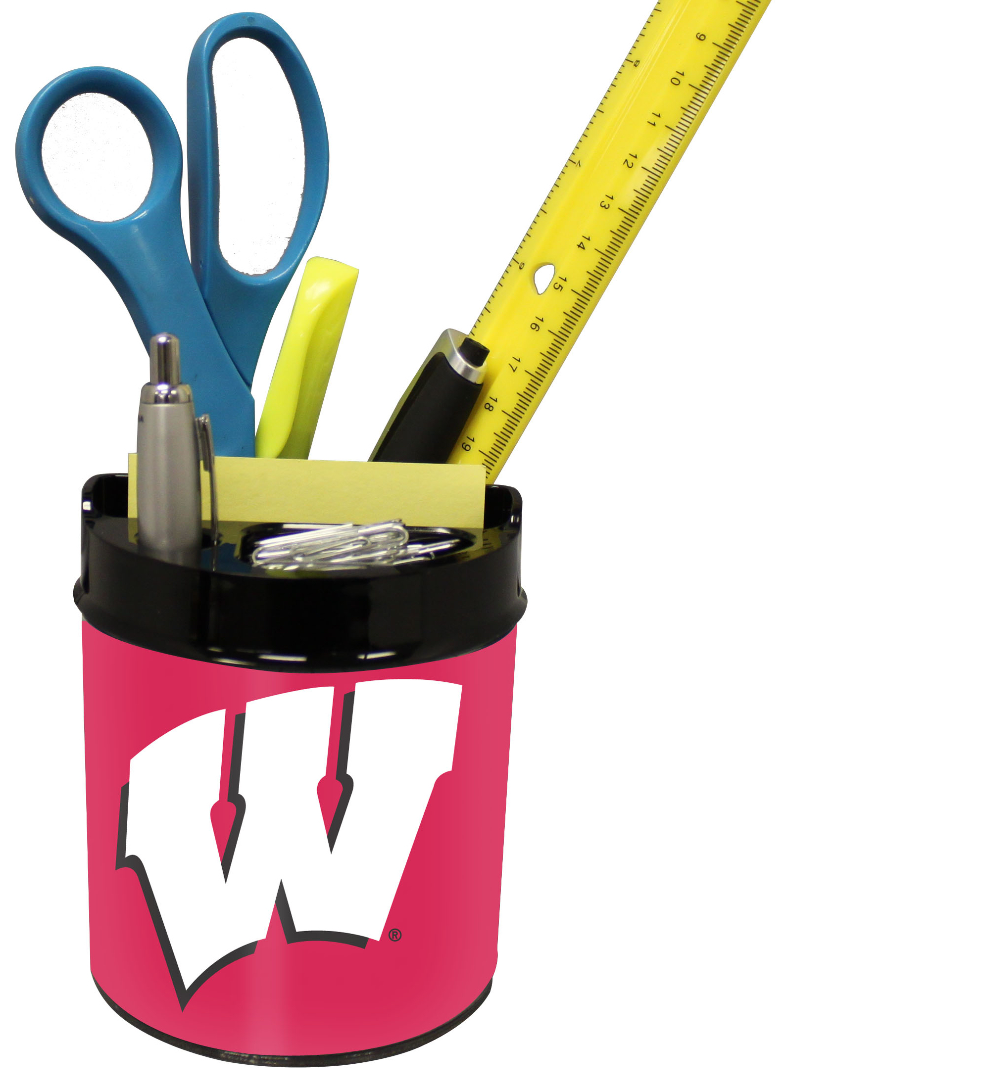 Wisconsin Badgers Small Desk Caddy