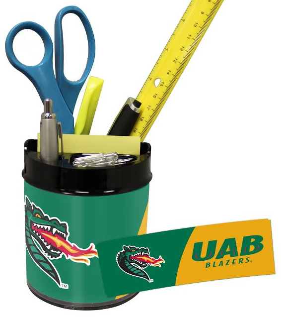UAB Blazers Small Desk Caddy