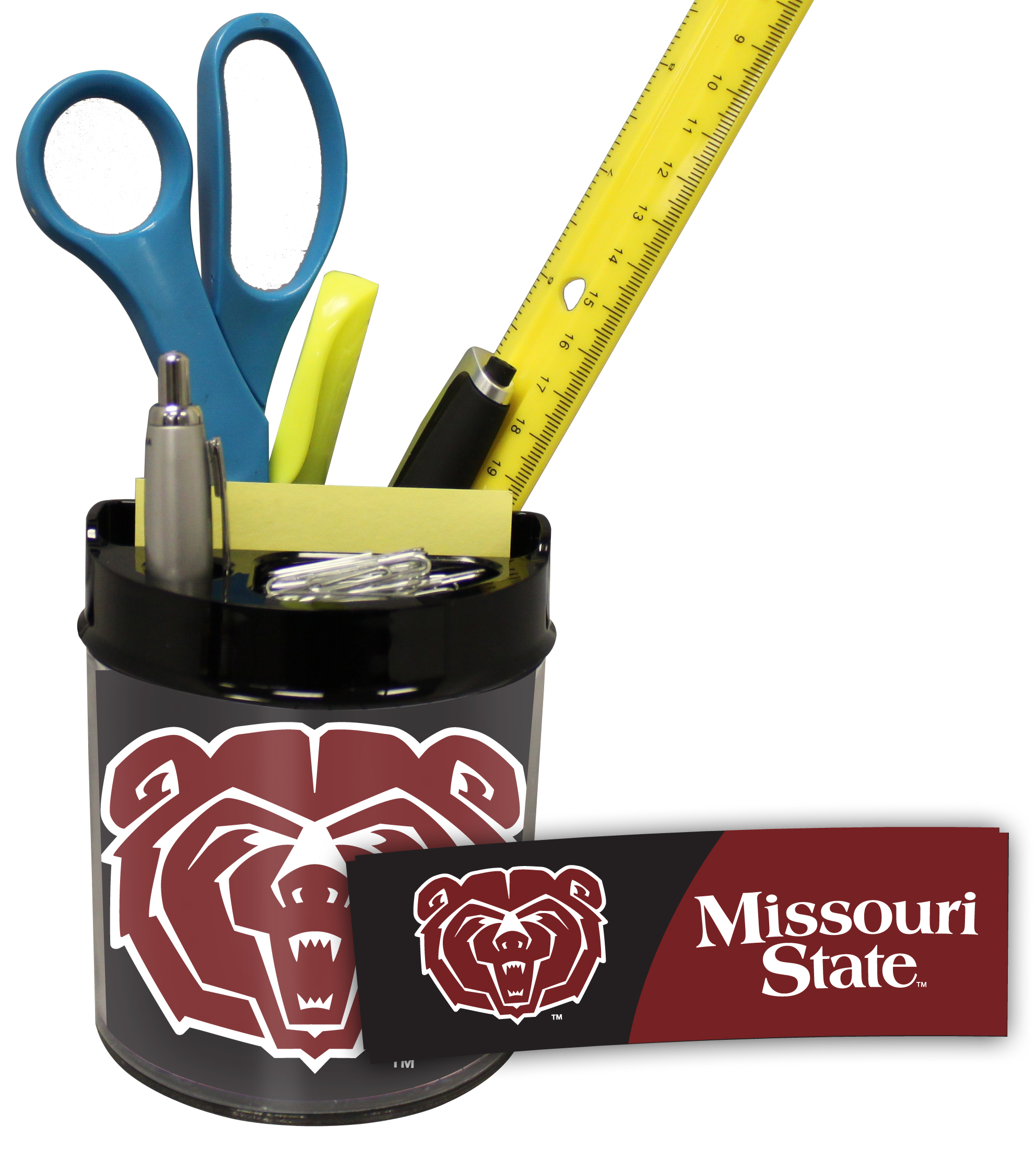 Missouri State Bears Small Desk Caddy