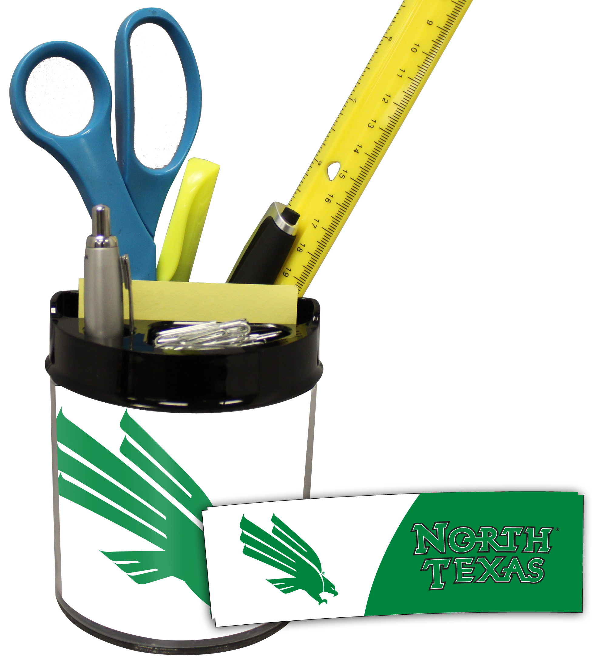 North Texas Mean Green Small Desk Caddy