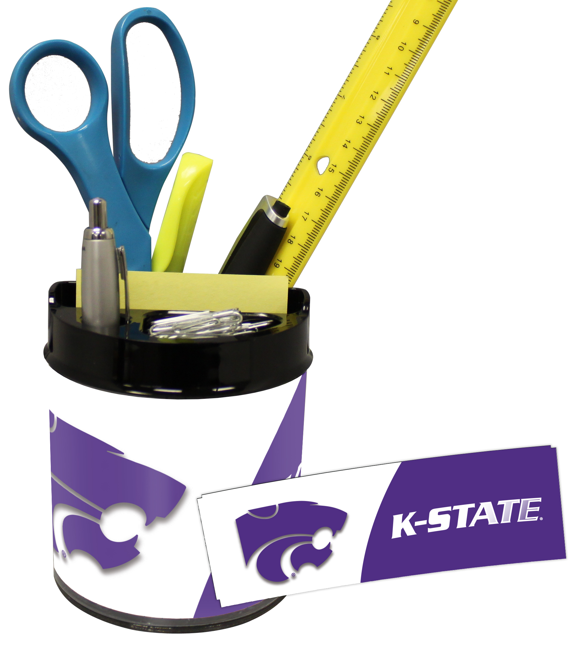 Kansas State Wildcats Small Desk Caddy