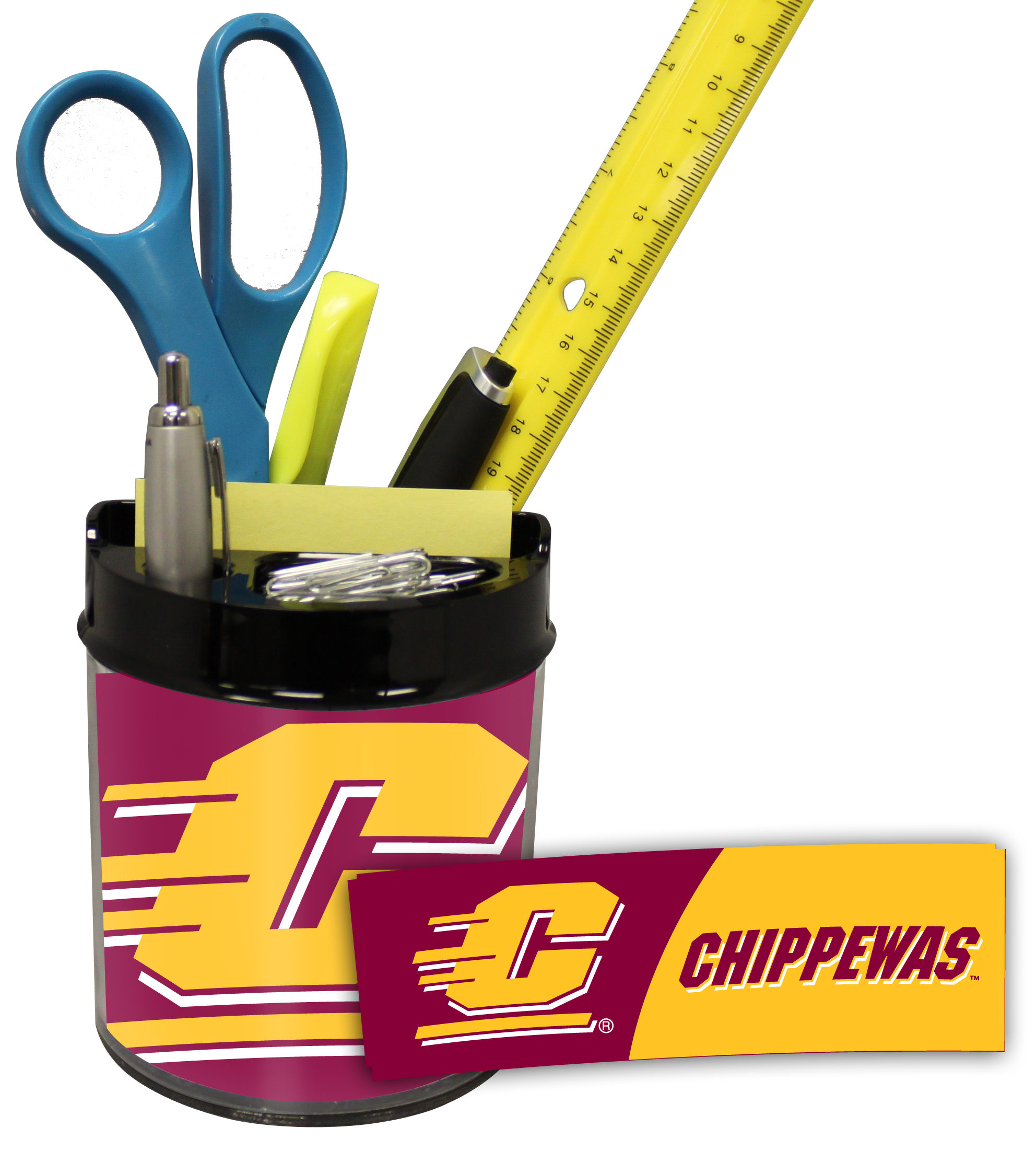 Central Michigan Chippewas Small Desk Caddy