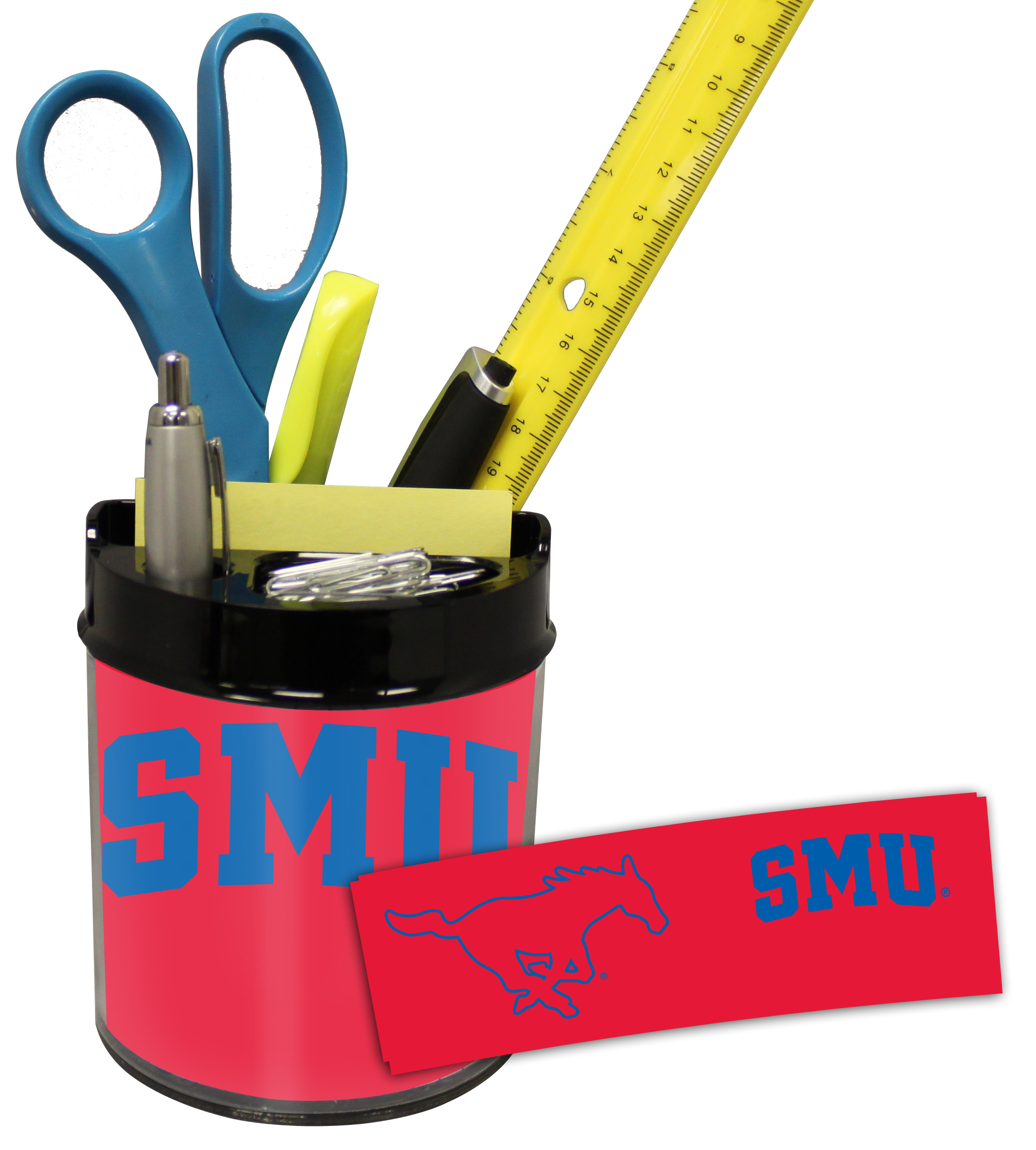 Southern Methodist (SMU) Mustangs Small Desk Caddy