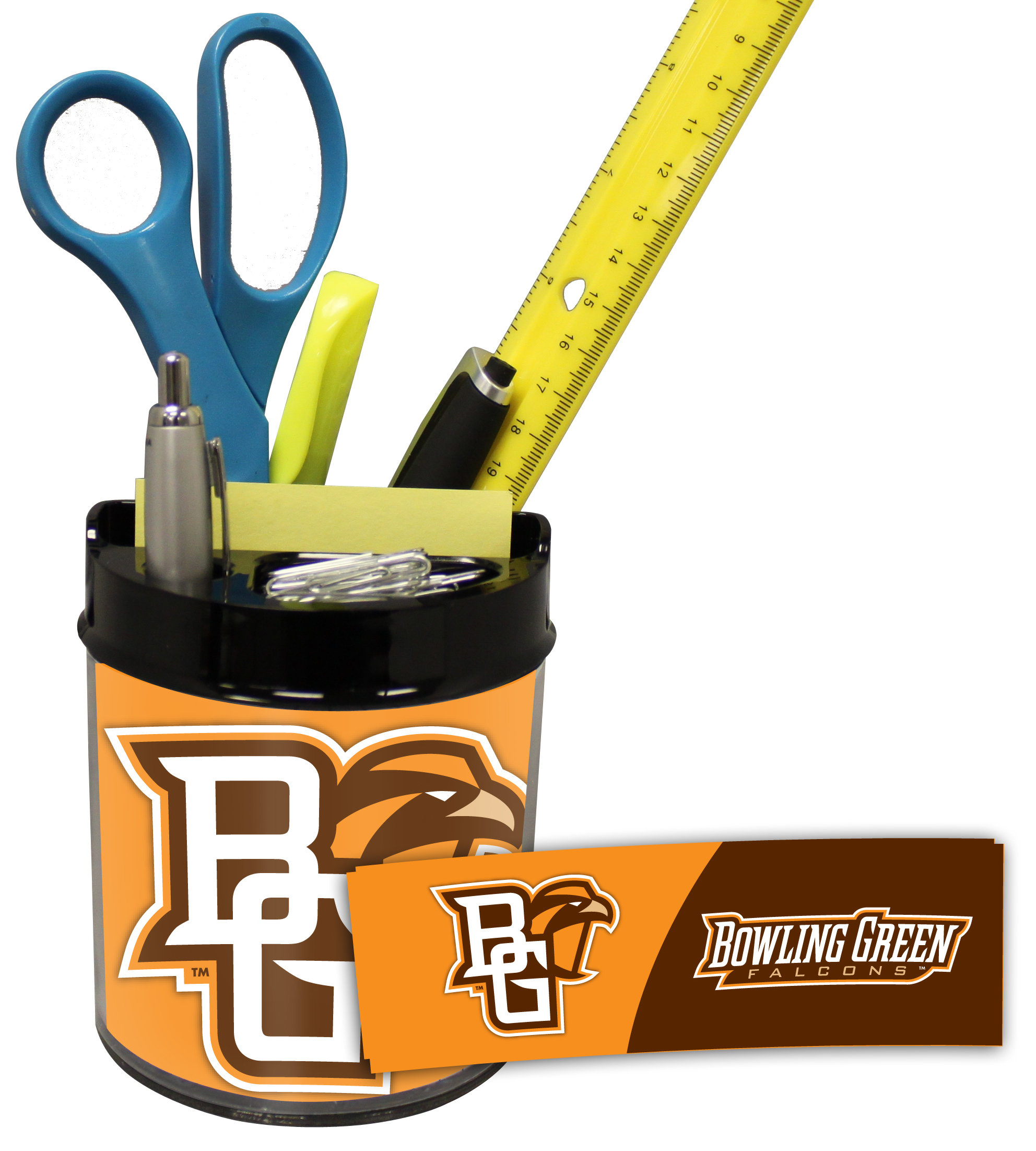Bowling Green Falcons Small Desk Caddy