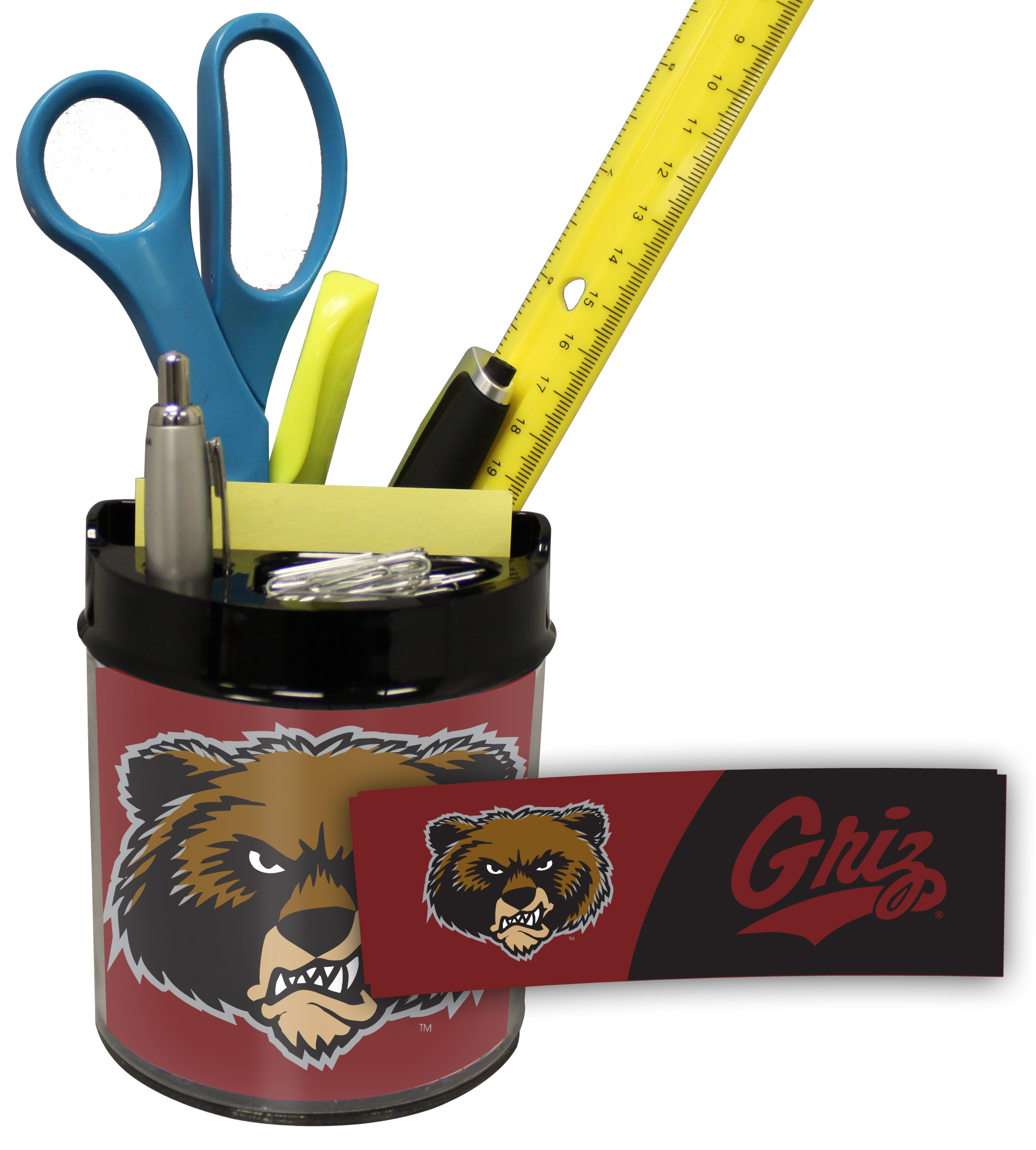 Montana Grizzlies Small Desk Caddy