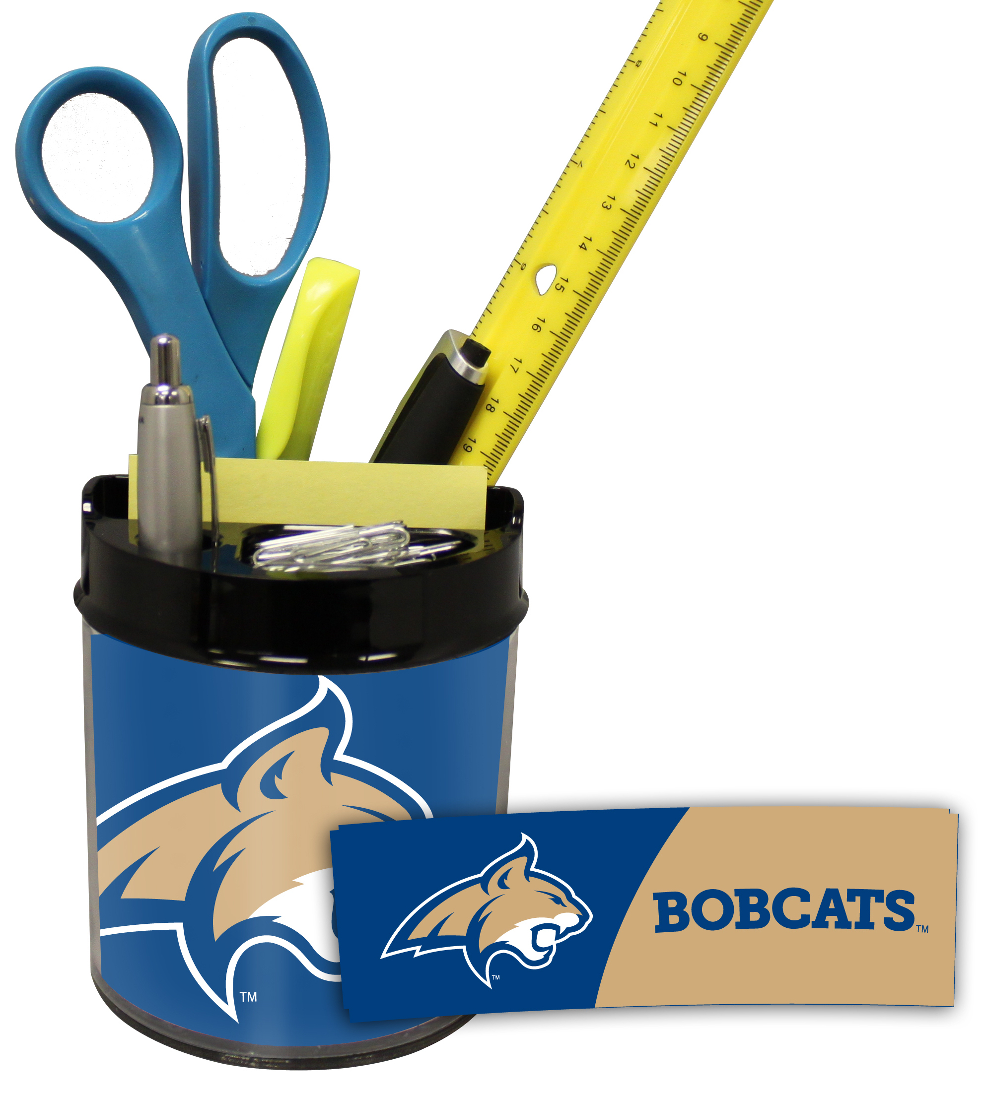 Montana State Bobcats Small Desk Caddy