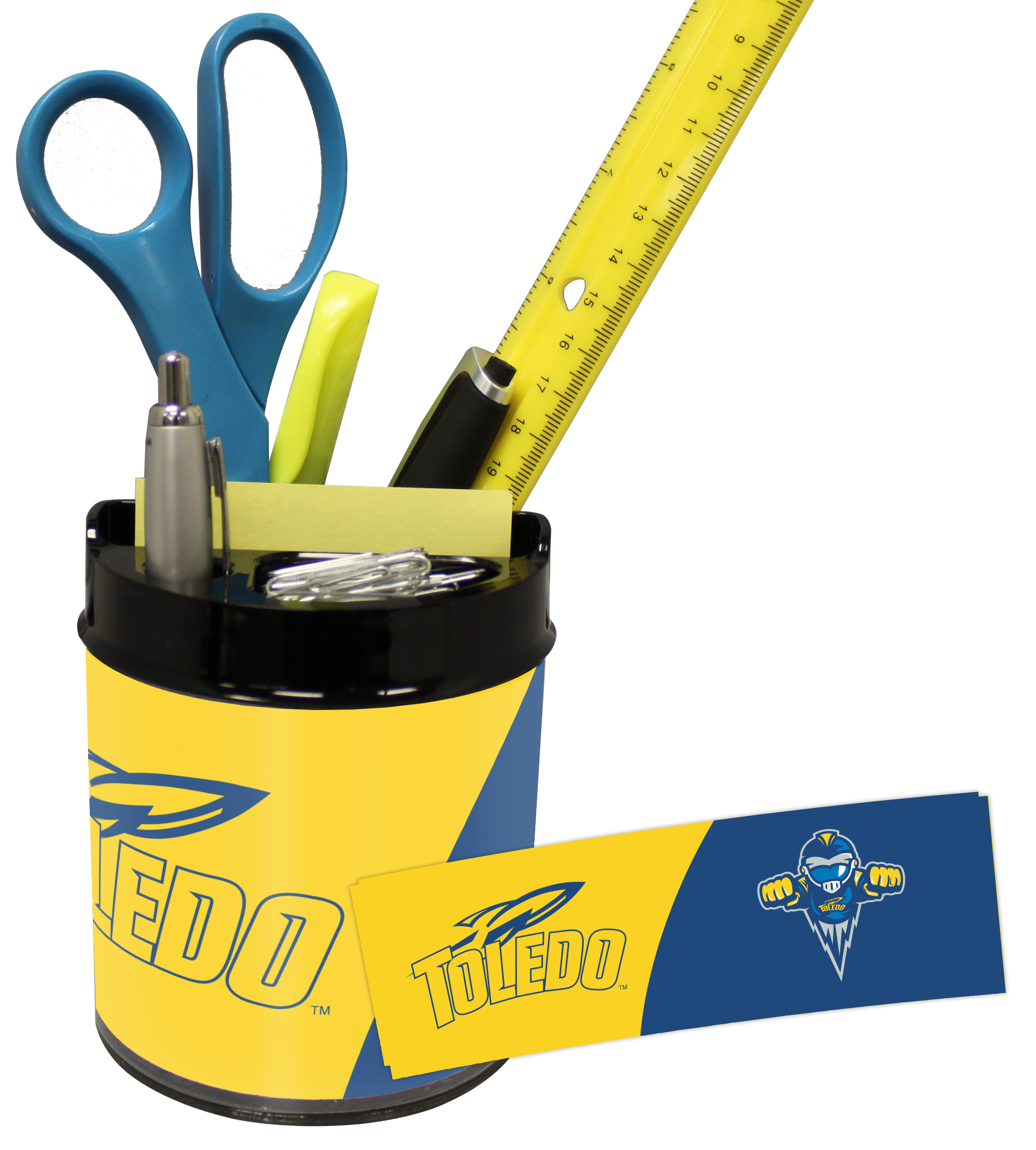 Toledo Rockets Small Desk Caddy