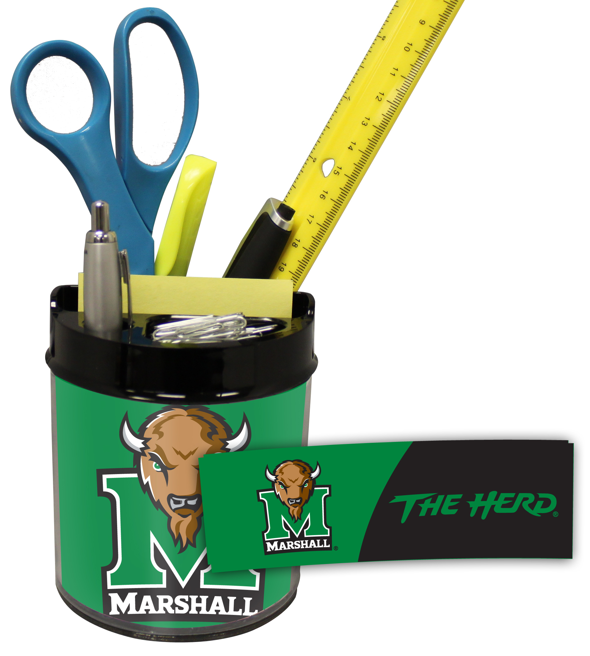 Marshall Thundering Herd Small Desk Caddy