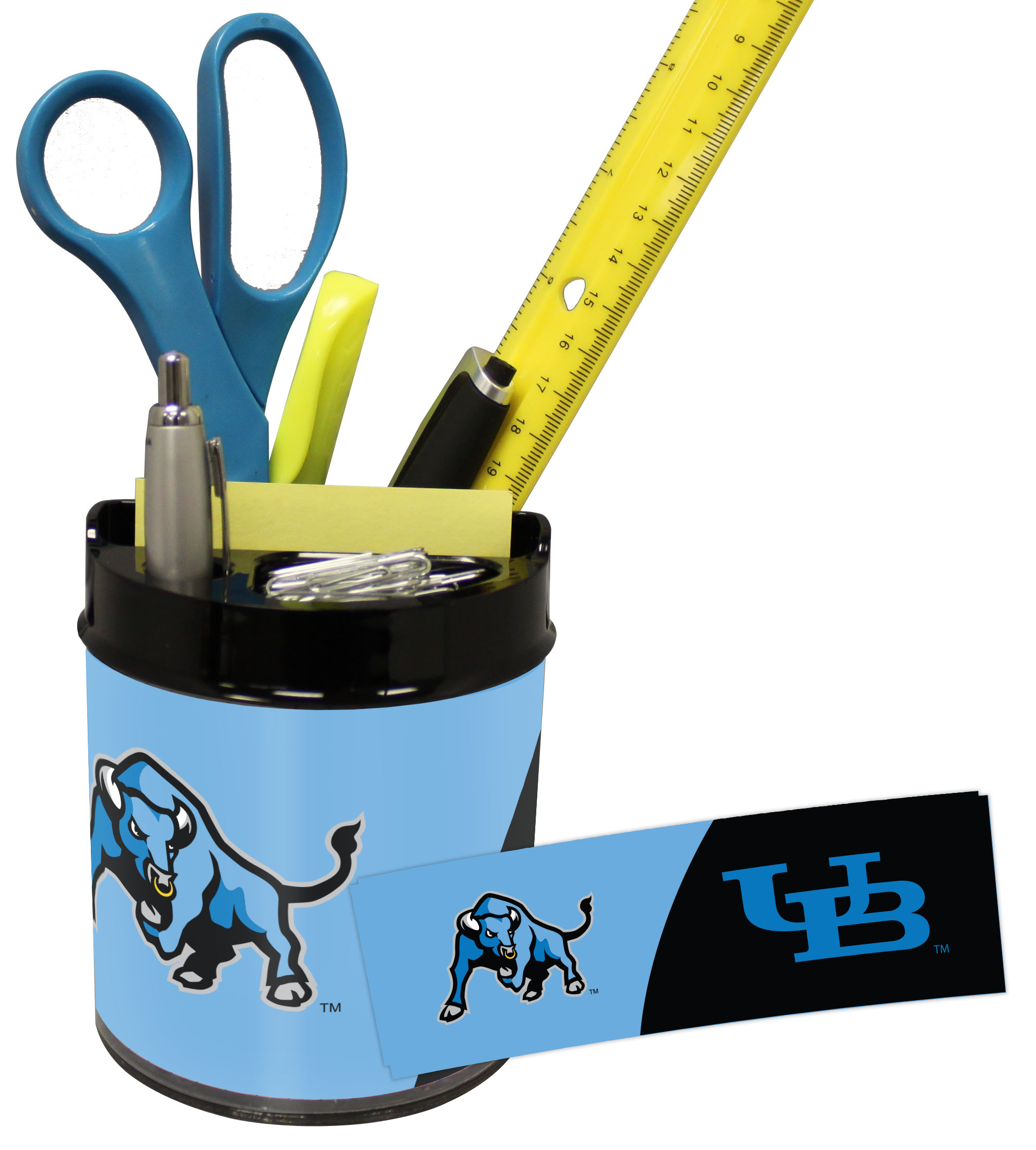 Buffalo Bulls Small Desk Caddy
