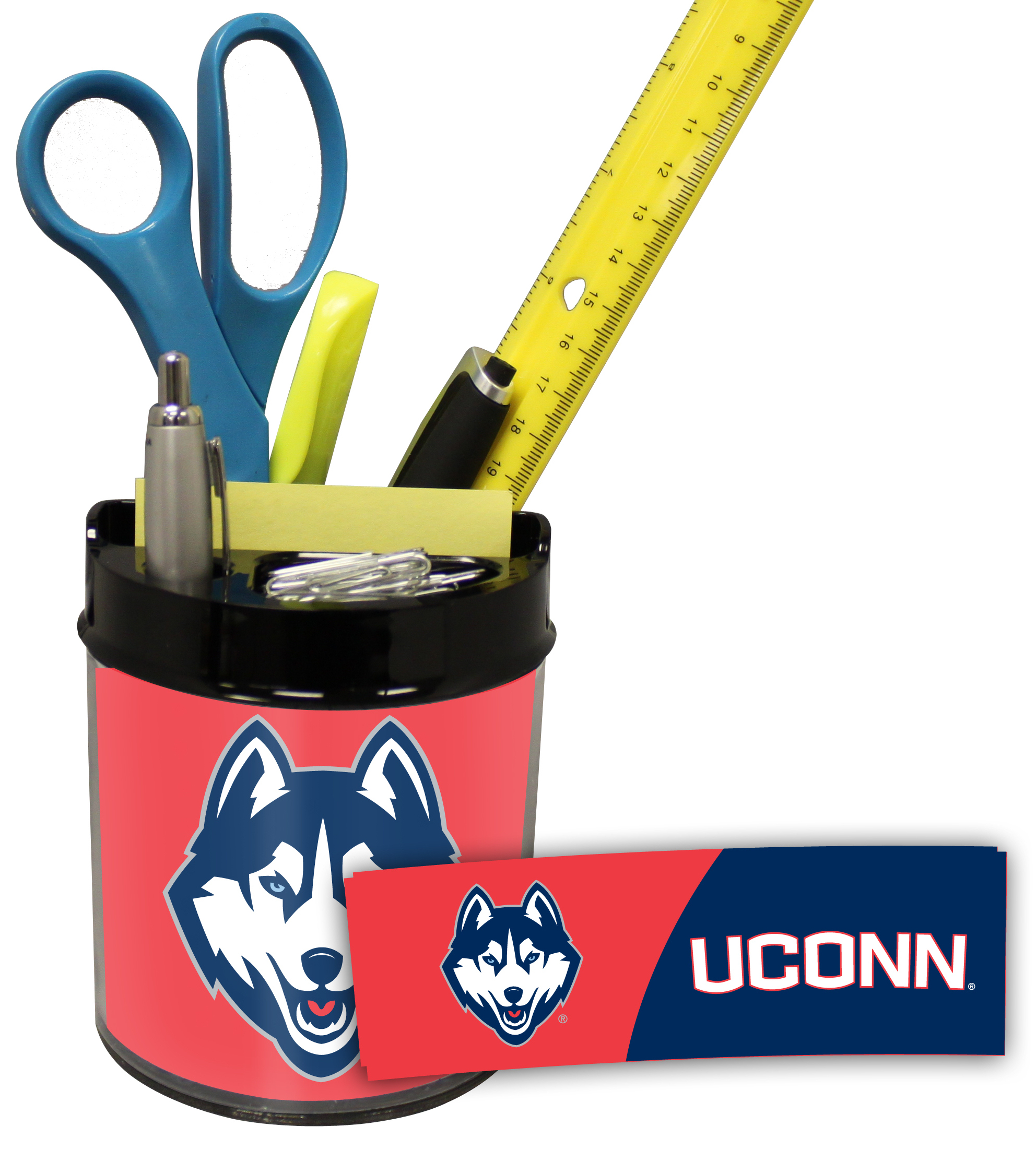 Connecticut Huskies Small Desk Caddy