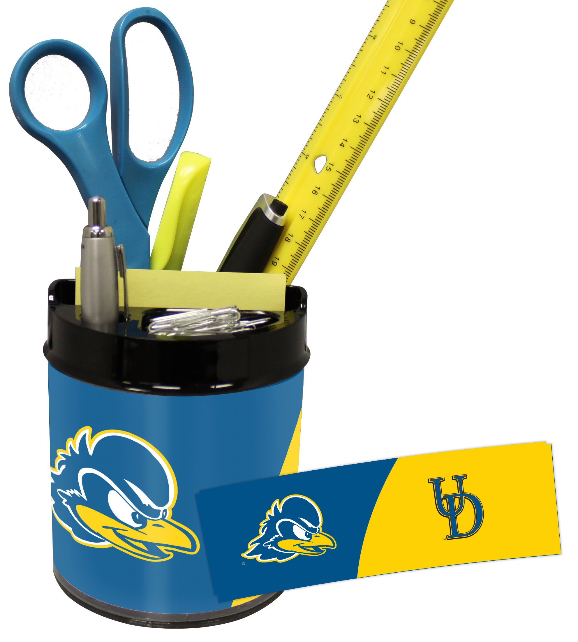 Delaware Blue Hens Small Desk Caddy