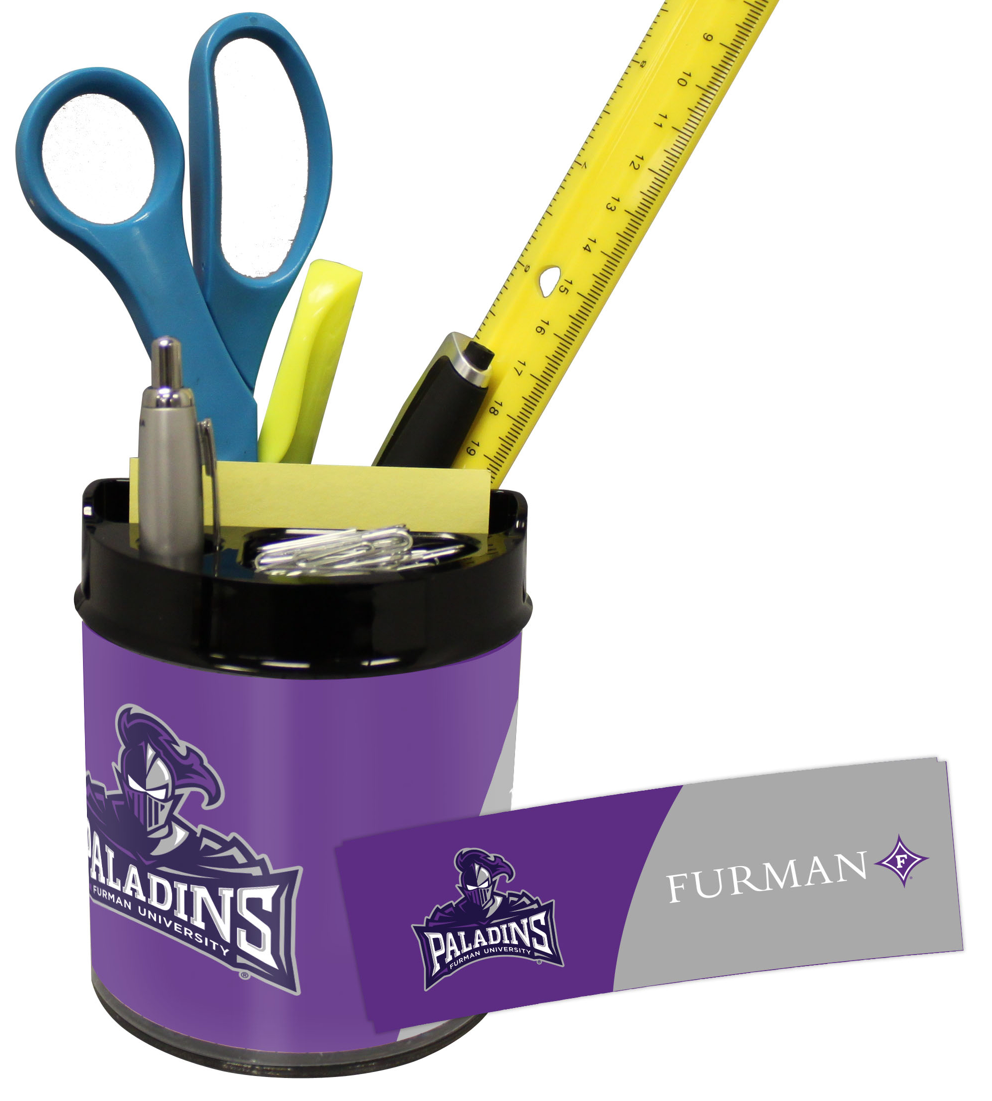 Furman Paladins Small Desk Caddy