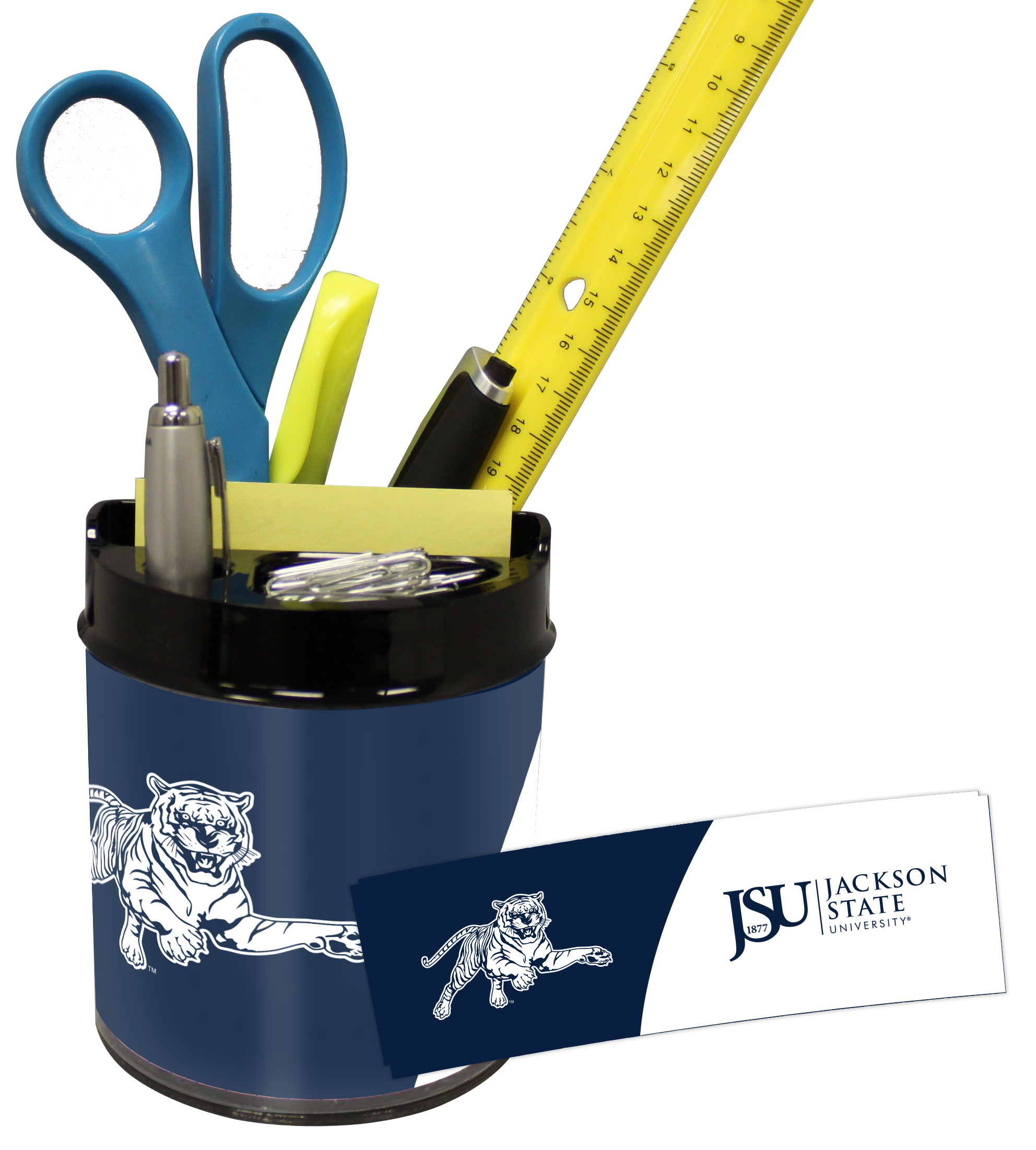 Jackson State Tigers Small Desk Caddy