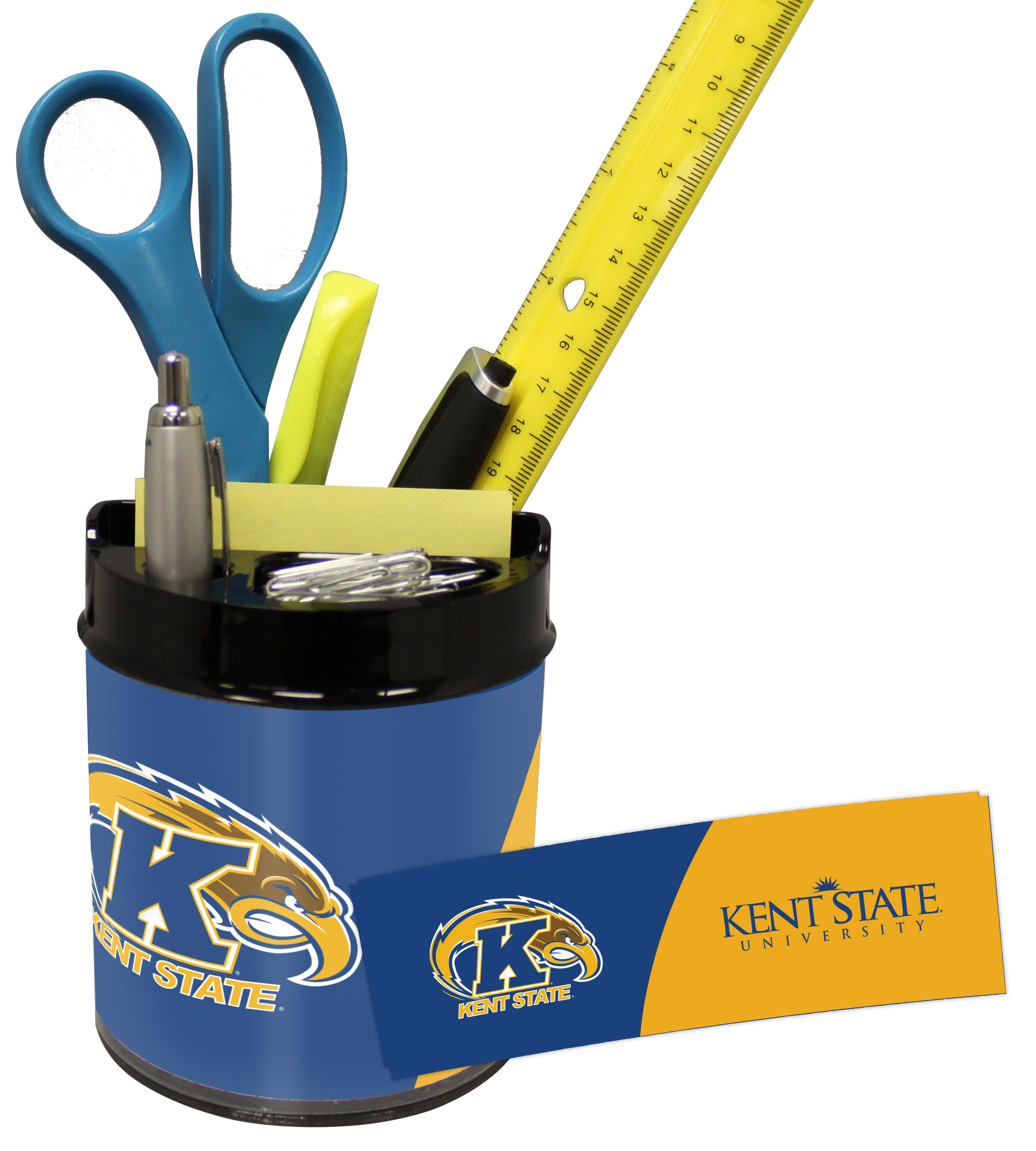 Kent State Golden Flashes Small Desk Caddy