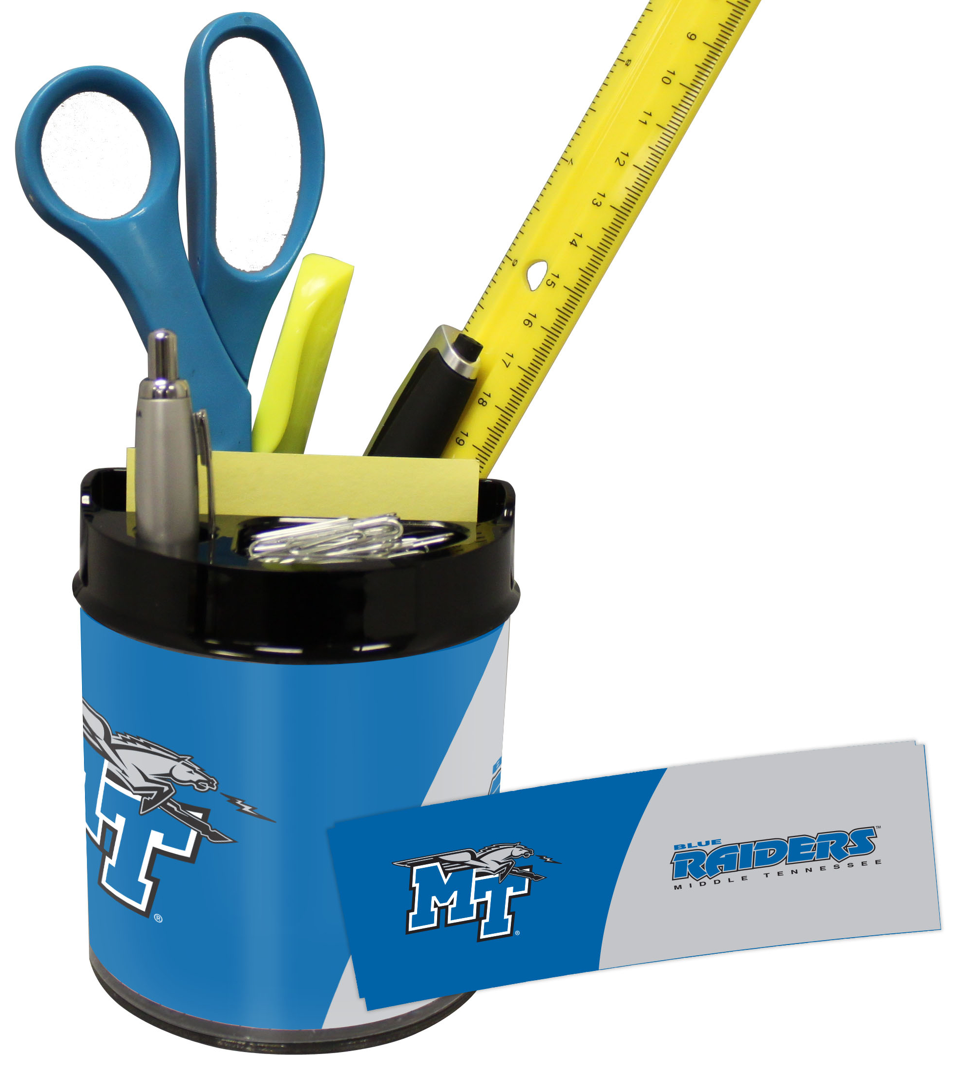 Middle Tenn St Blue Raiders Small Desk Caddy