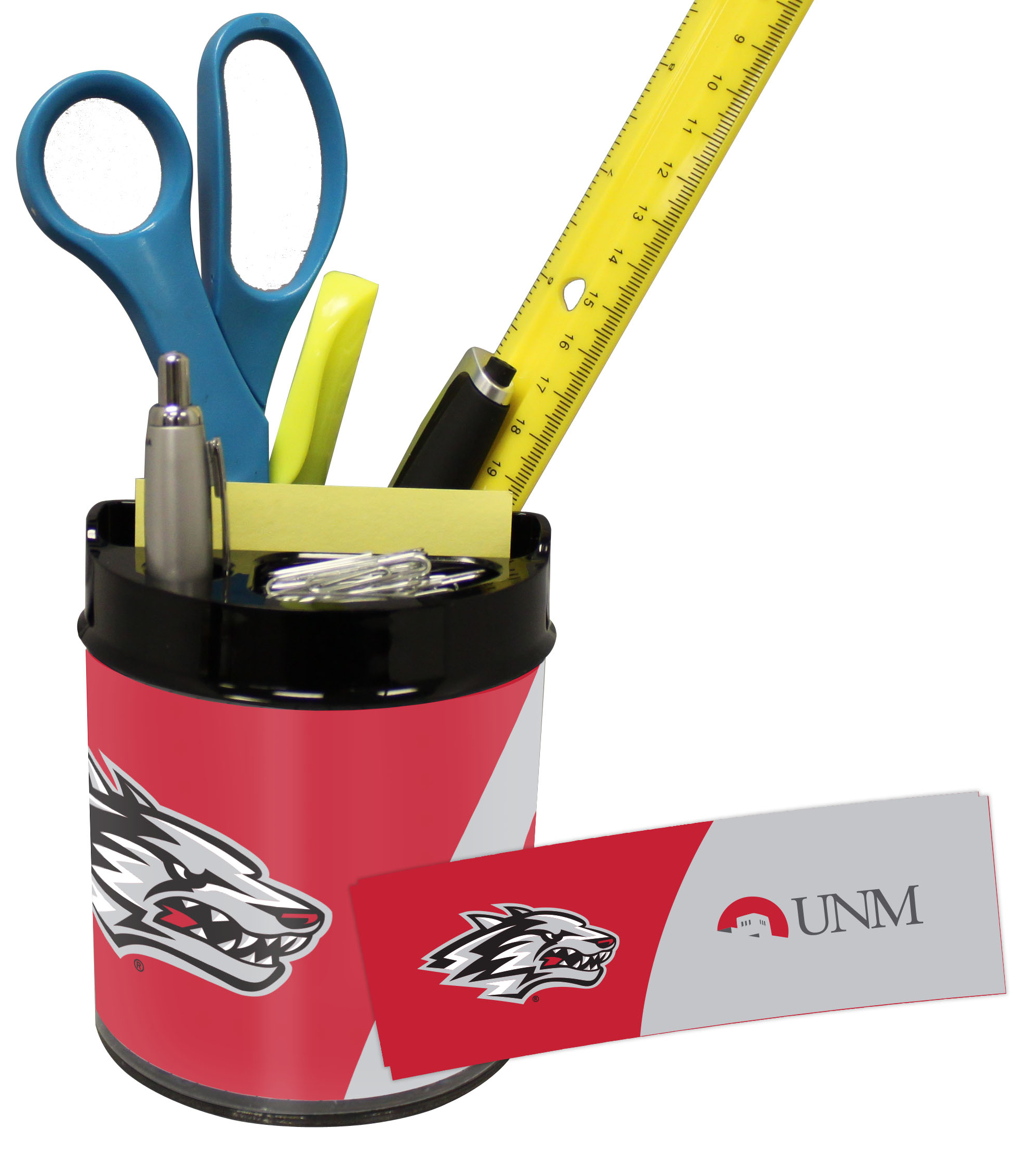 New Mexico Lobos Small Desk Caddy