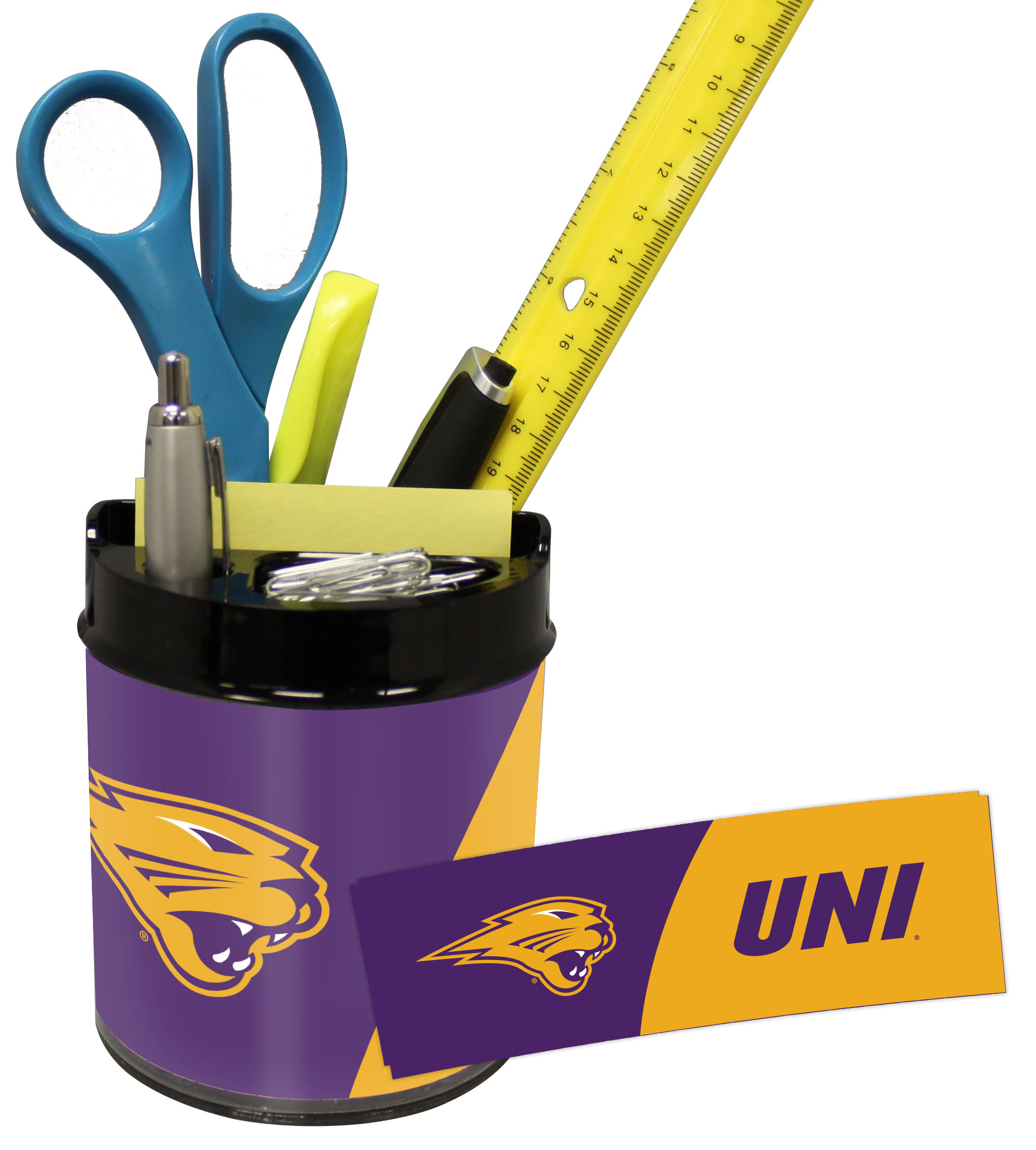 Northern Iowa Panthers Small Desk Caddy