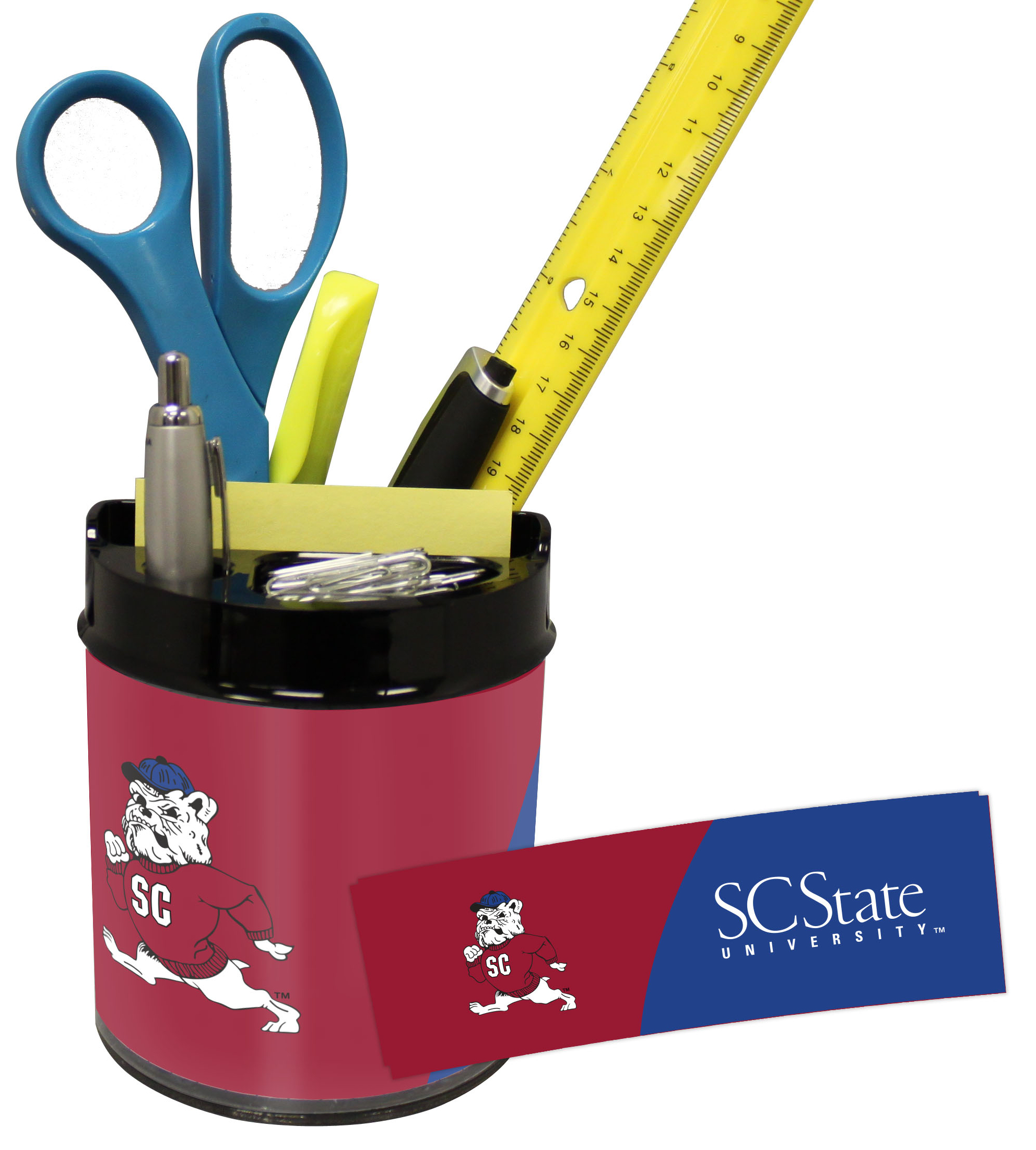 South Carolina State Bulldogs Small Desk Caddy