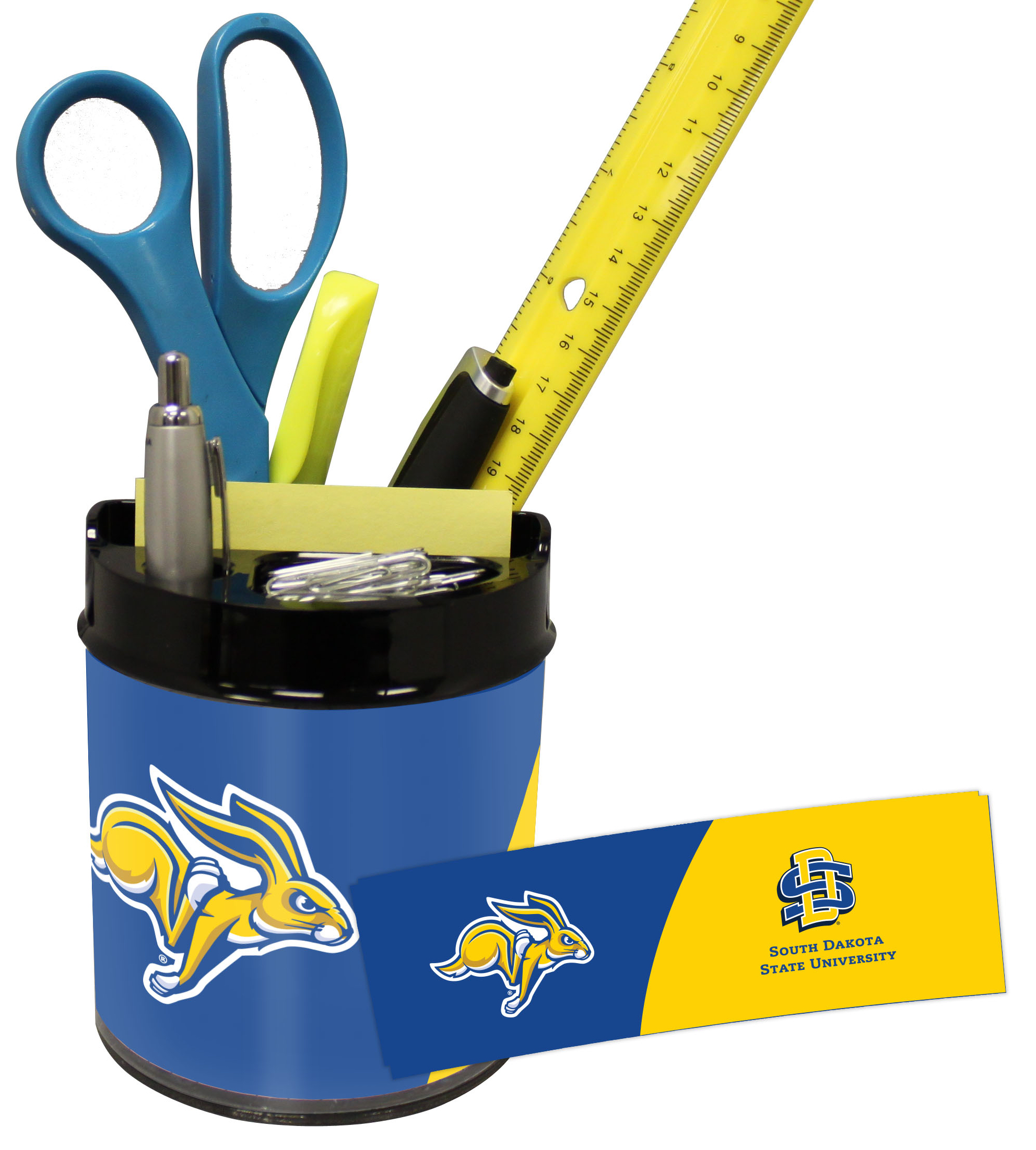 South Dakota State Jackrabbits Small Desk Caddy