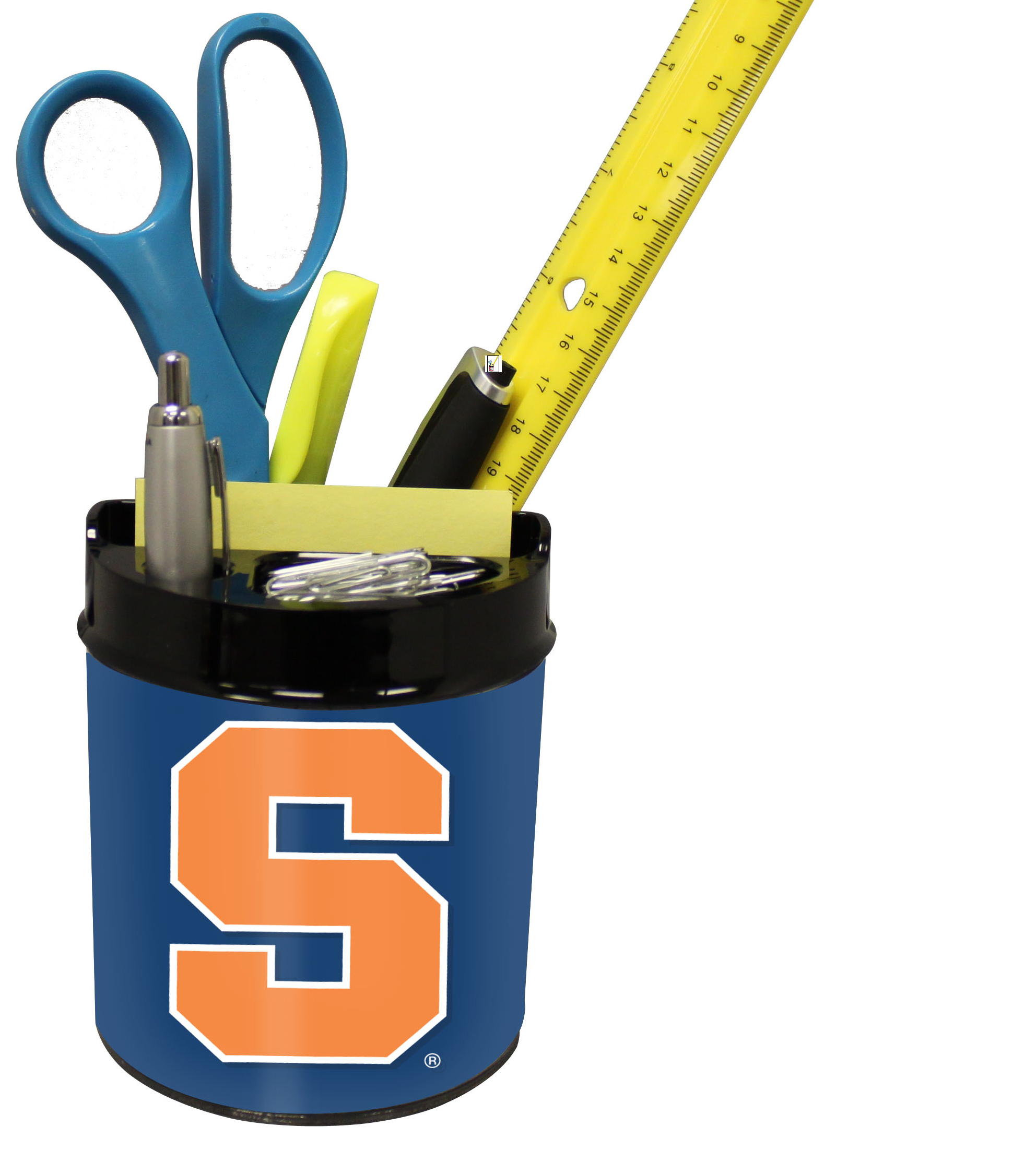 Syracuse Orangemen Small Desk Caddy